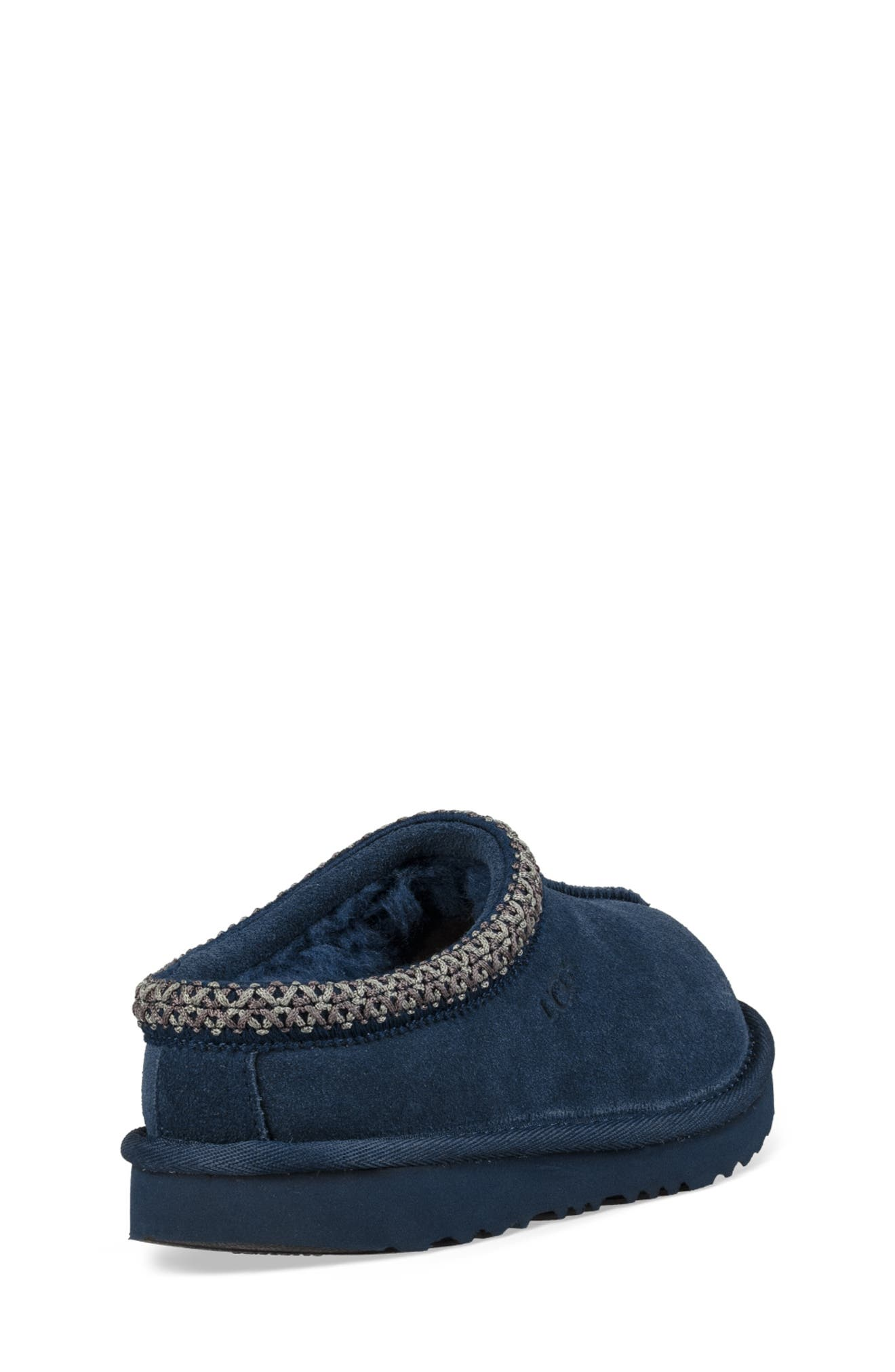 UGG<SUP>®</SUP>, K-Tasman II Embroidered Slipper, Alternate thumbnail 2, color, NEW NAVY