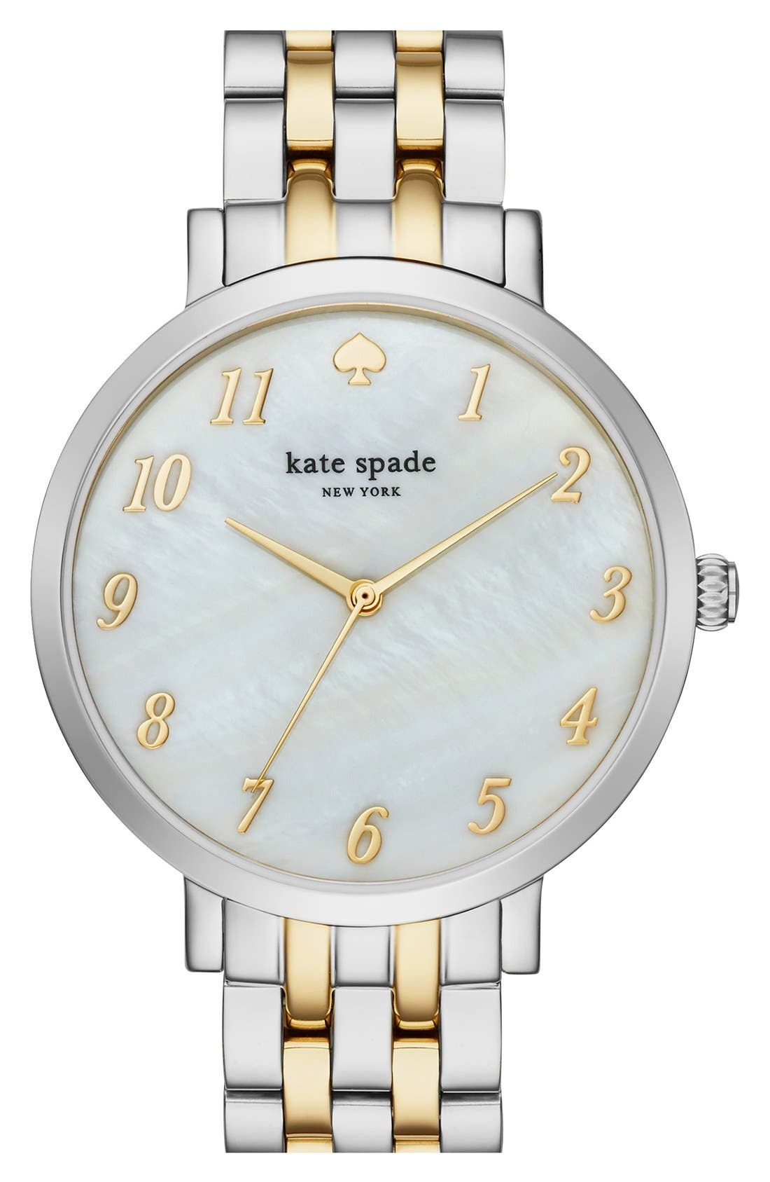 KATE SPADE NEW YORK 'monterey' bracelet watch, 38mm, Main, color, 040