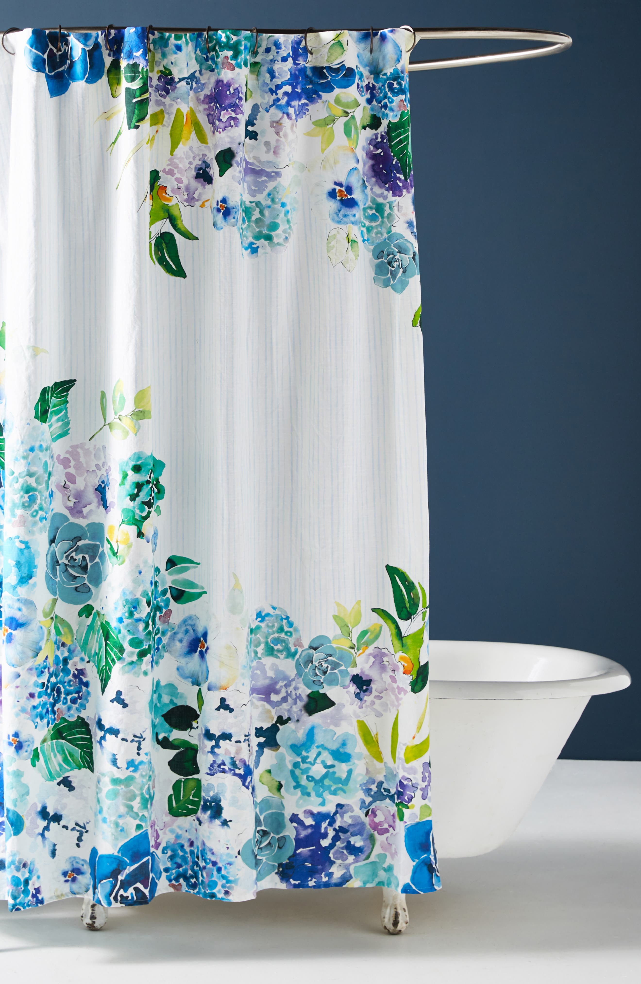 Anthropologie Sarah Hackinson Shower Curtain Size One Size  White