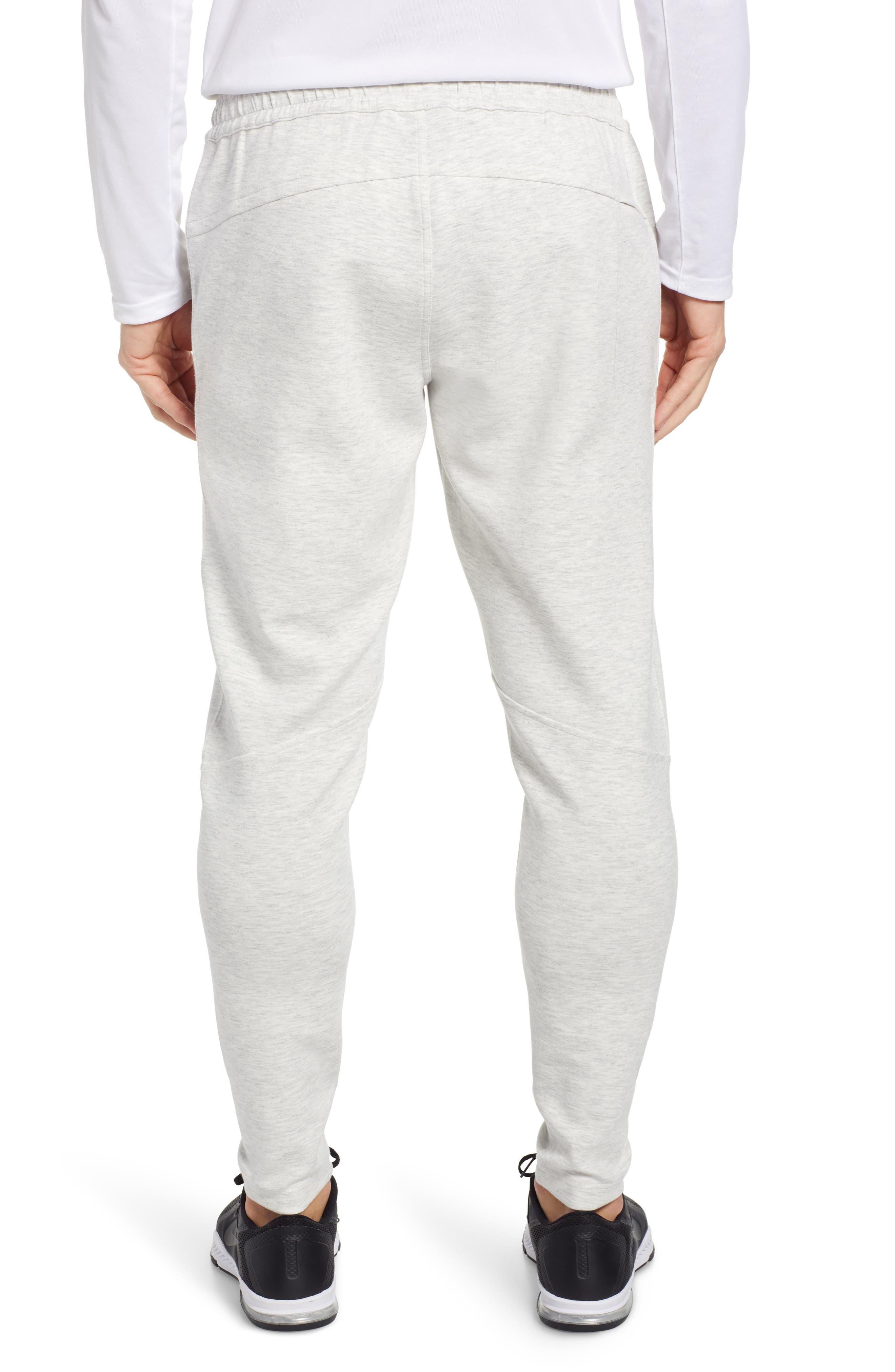 ZELLA, Zip Pocket Tech Jogger Pants, Alternate thumbnail 2, color, WHITE OXIDE MELANGE