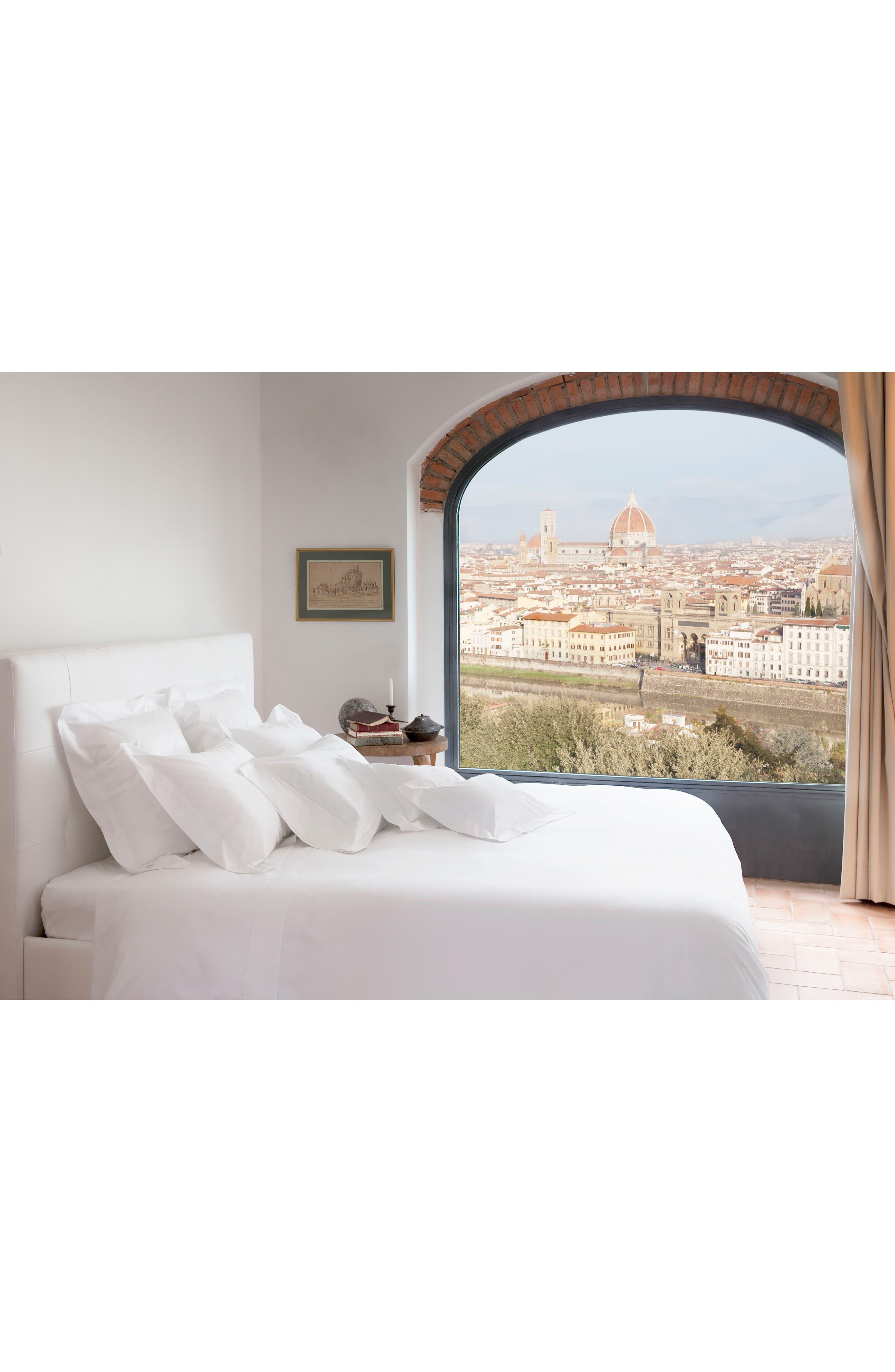 SIGNORIA FIRENZE, Tuscan Dreams 400 Thread Count Set of 2 Pillowcases, Alternate thumbnail 5, color, WHITE