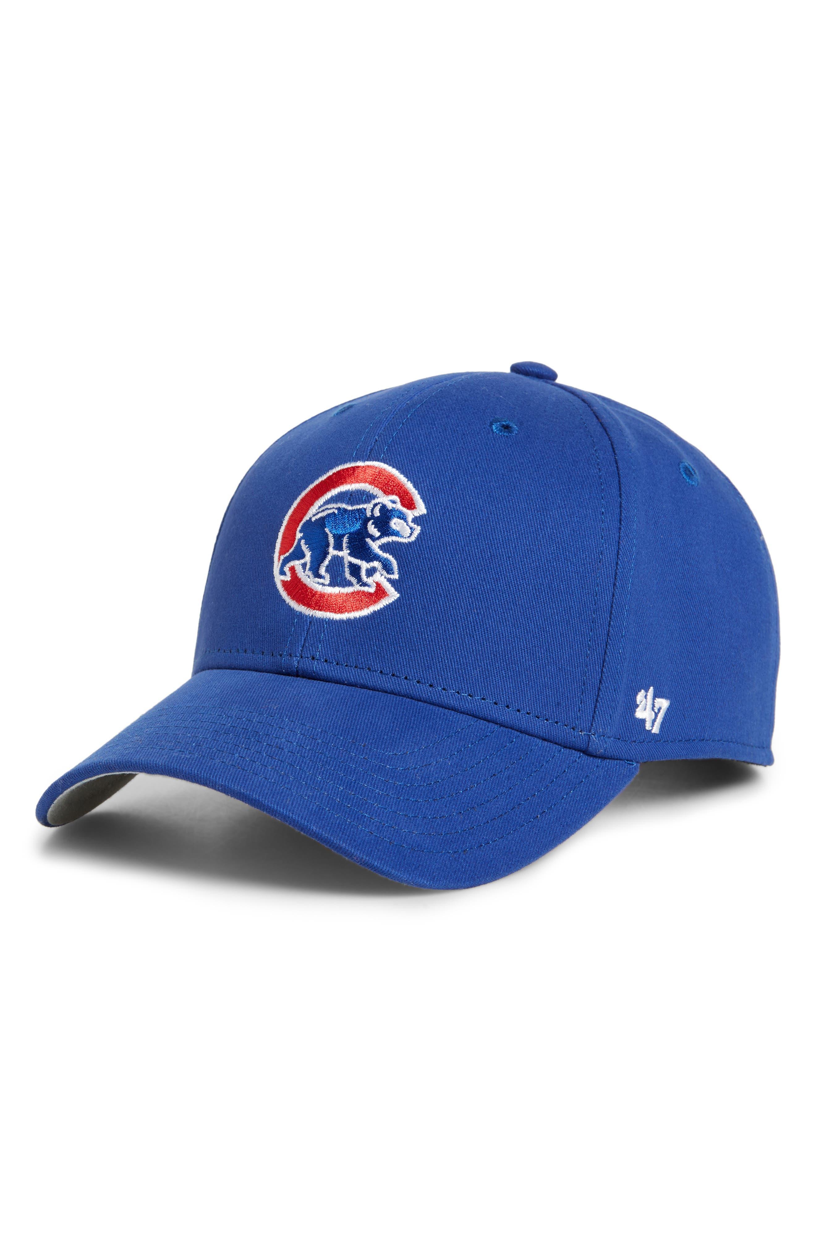 '47 Chicago Cubs Baseball Cap, Main, color, ROYAL