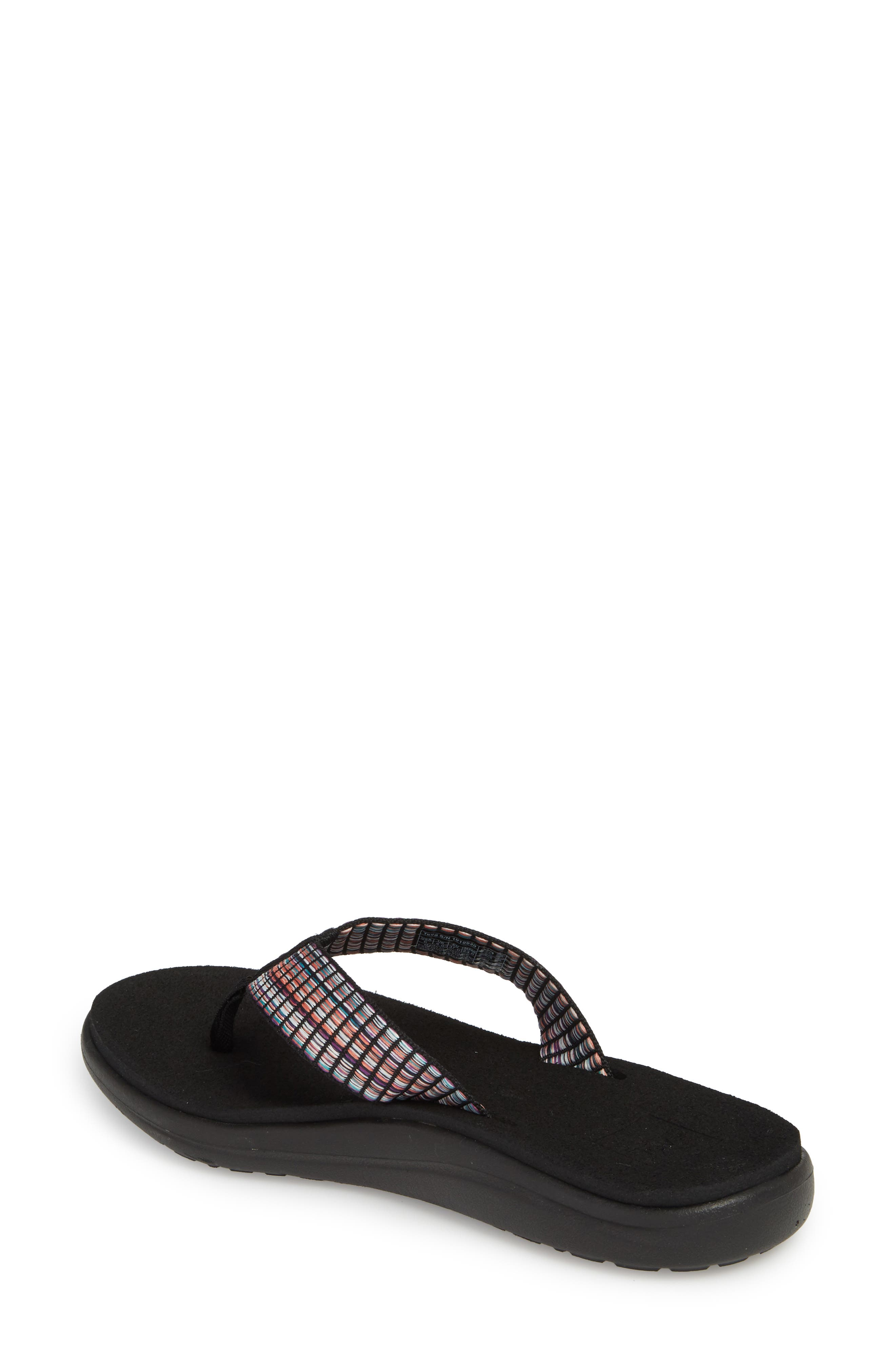 TEVA, Voya Flip Flop, Alternate thumbnail 2, color, 001