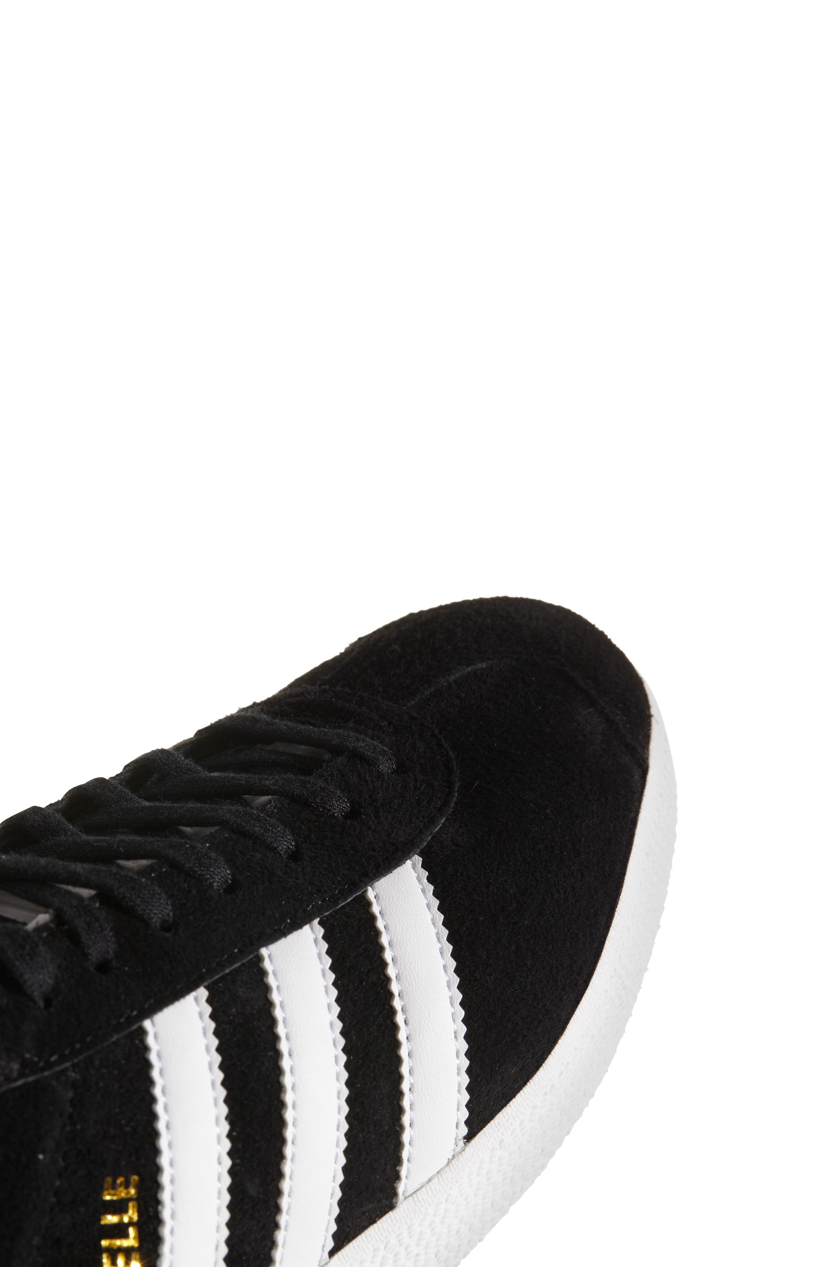 ADIDAS, Gazelle Sneaker, Alternate thumbnail 9, color, 003