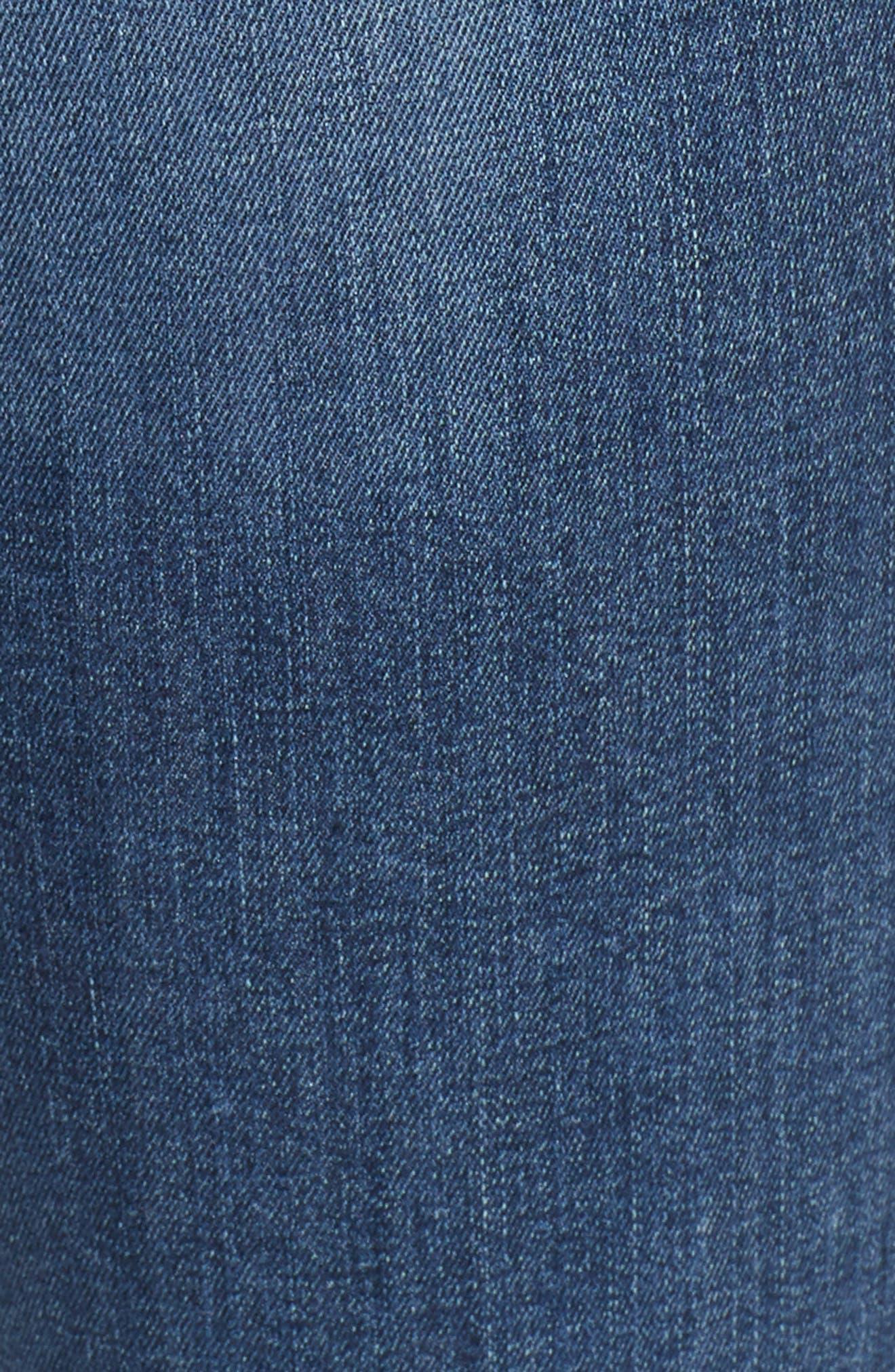 FRAME, Le High Flare Jeans, Alternate thumbnail 7, color, CRISTALLO