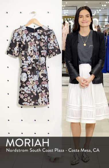 Presley Tapestry Jacquard Dress, sales video thumbnail
