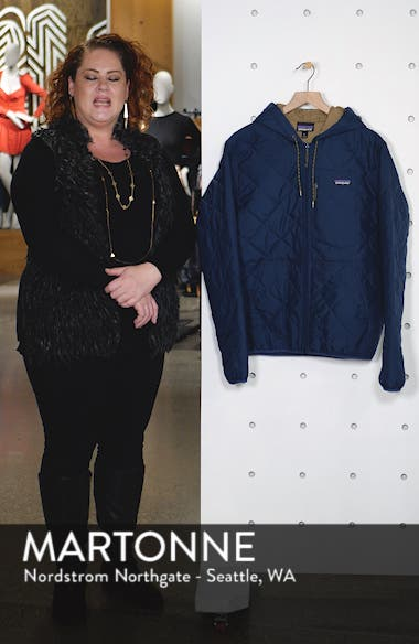 Diamond Quilt Ripstop Hooded Jacket, sales video thumbnail