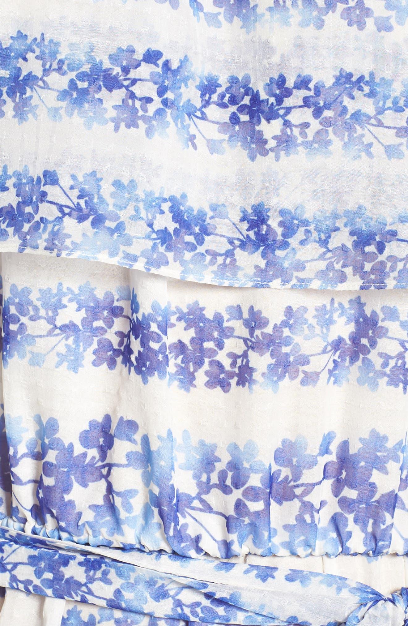 ELIZA J, Blouson Maxi Dress, Alternate thumbnail 5, color, 442
