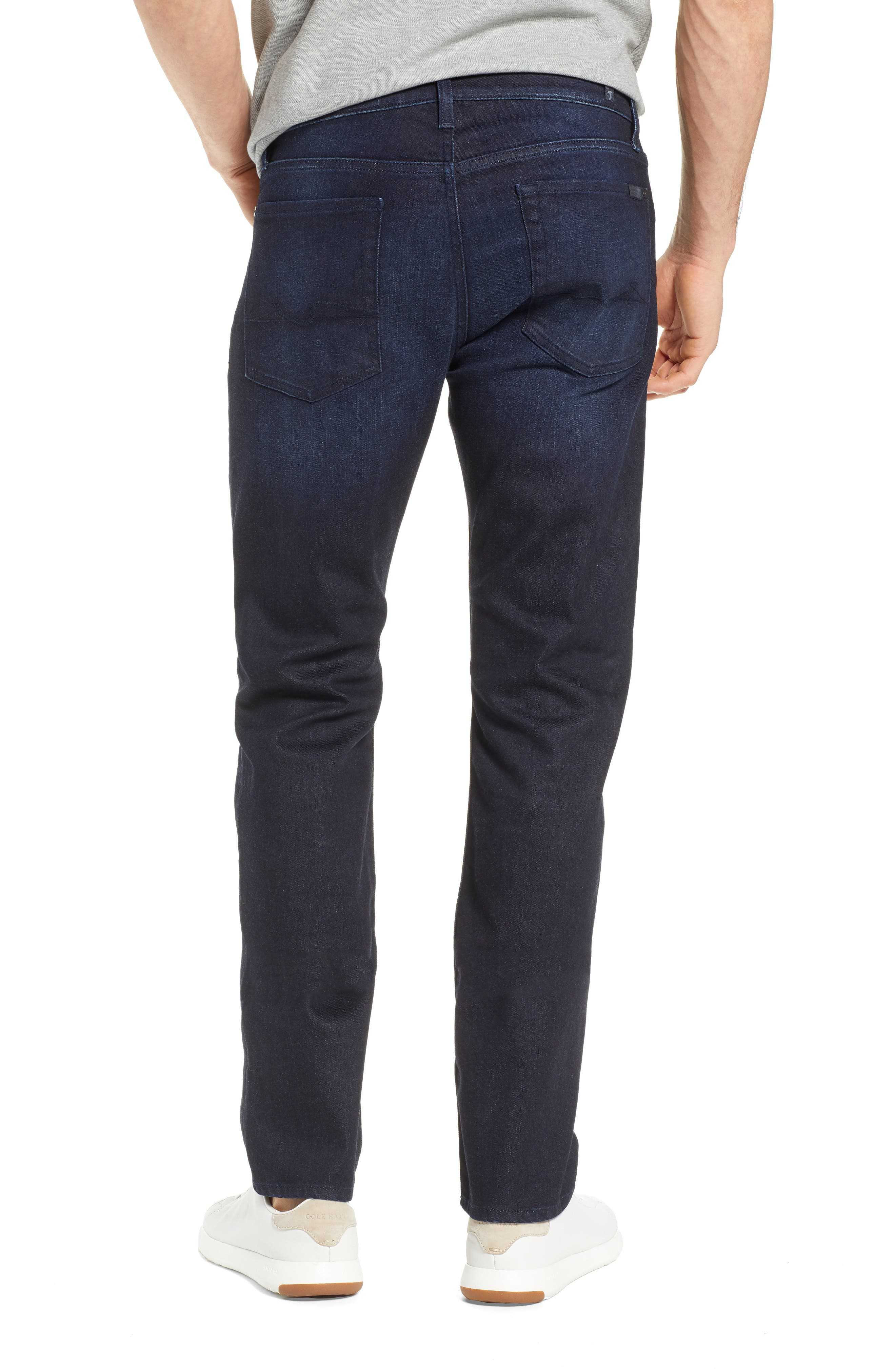 7 FOR ALL MANKIND<SUP>®</SUP>, Standard Straight Leg Jeans, Alternate thumbnail 2, color, RICHFIELD