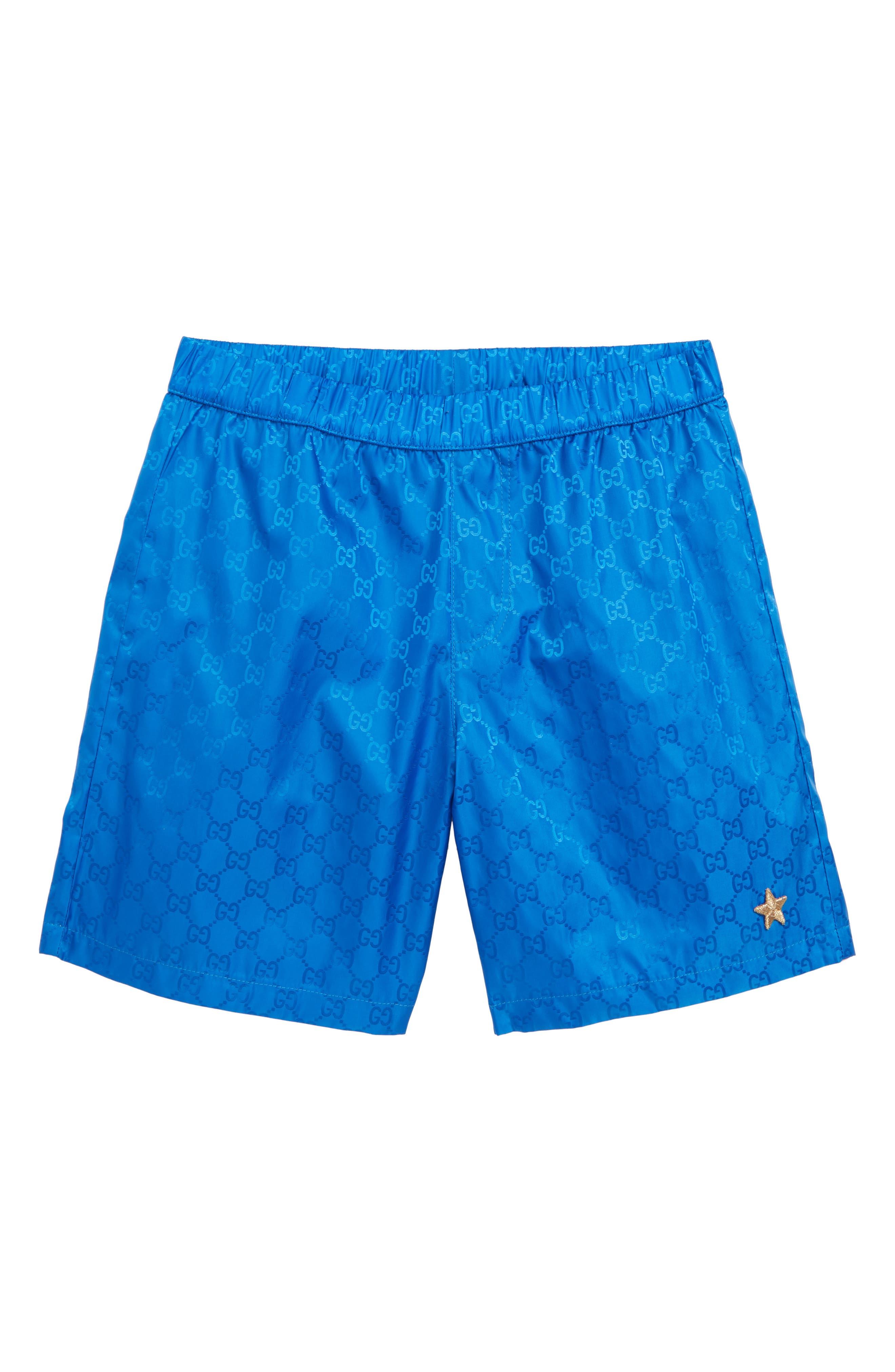 GUCCI, Double-G Boxer Shorts, Main thumbnail 1, color, VISAGE