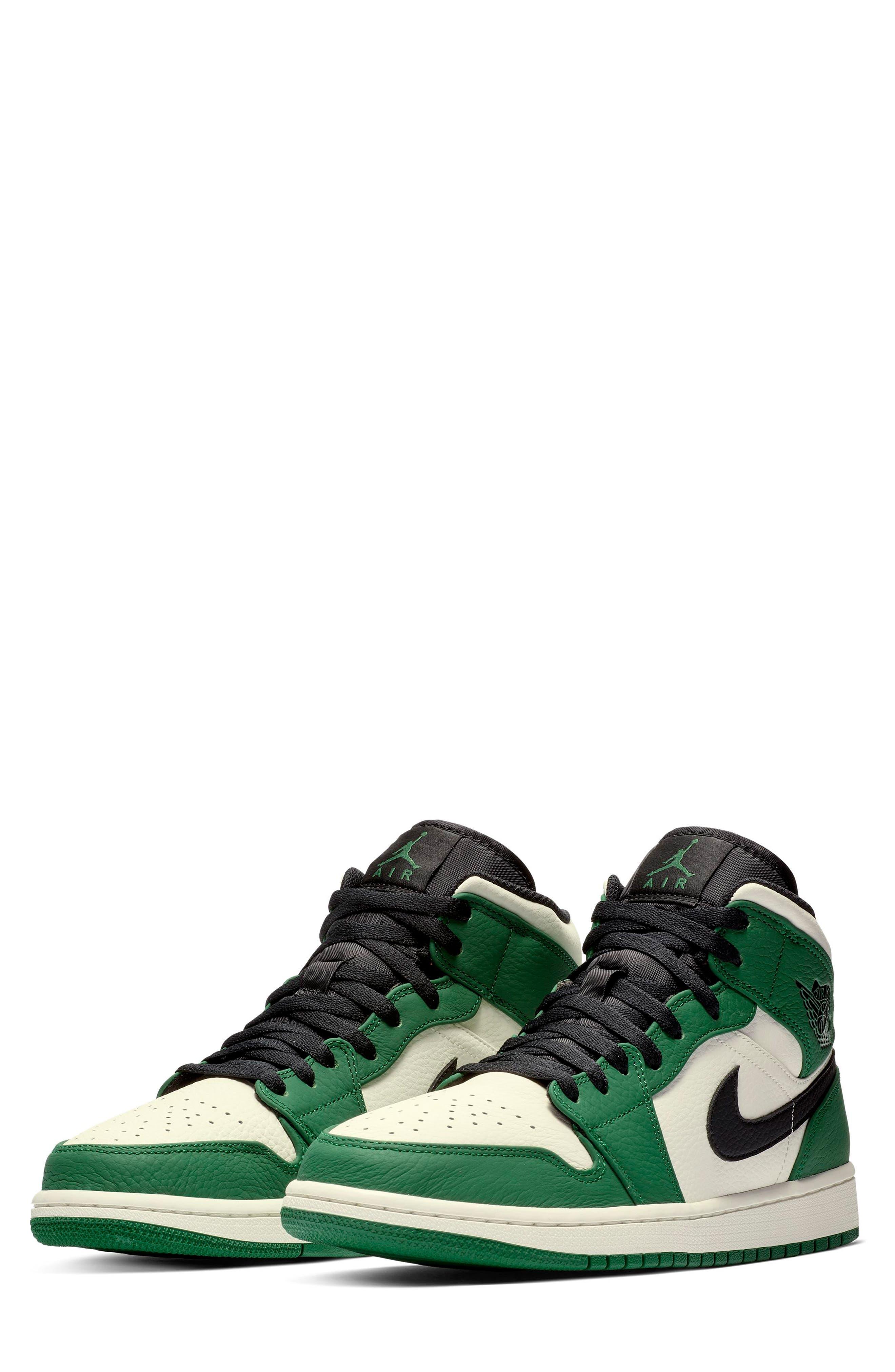 NIKE, Air Jordan 1 Mid Winterized Sneaker, Main thumbnail 1, color, 301