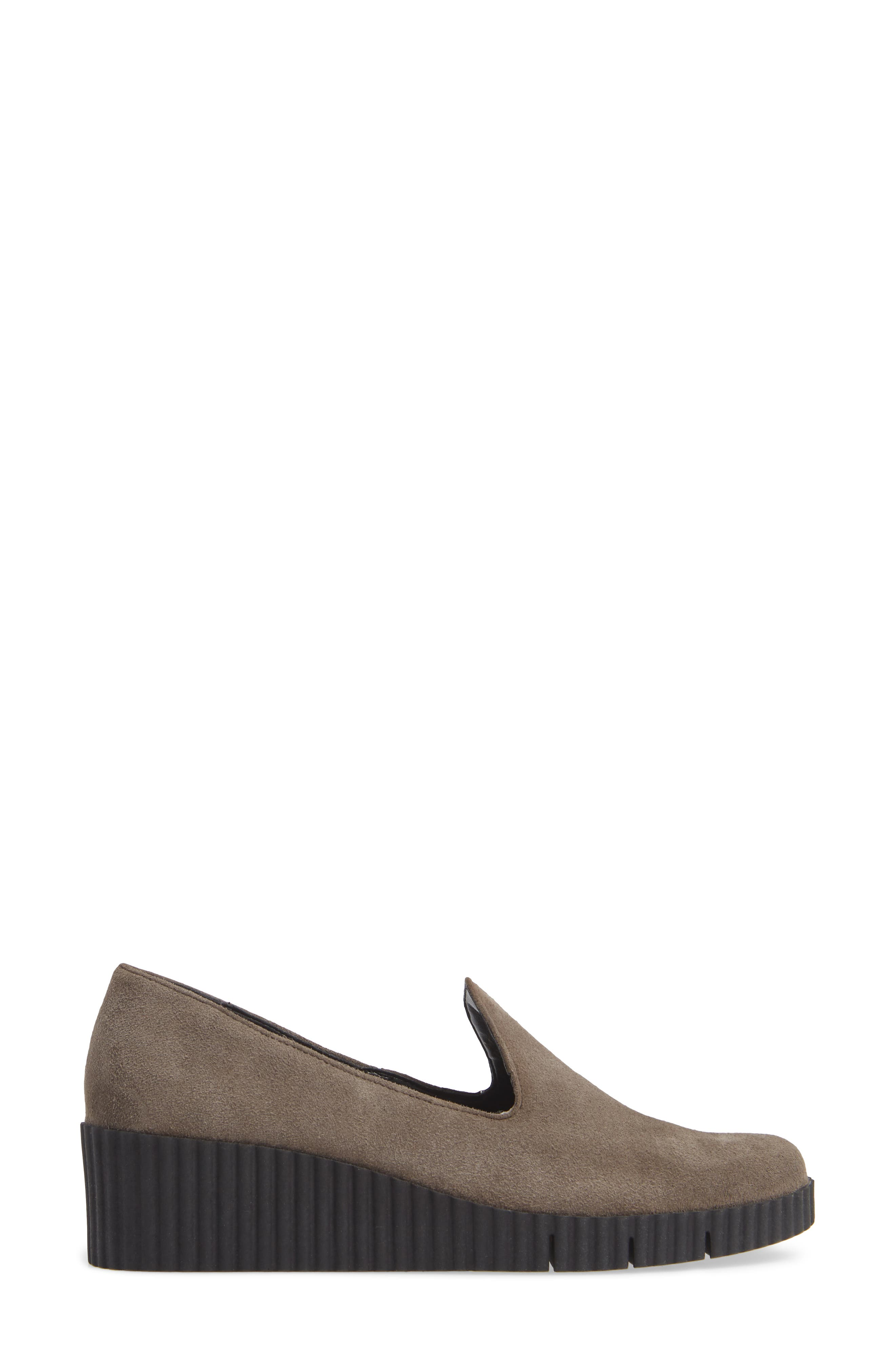THE FLEXX, Fast Times Loafer, Alternate thumbnail 3, color, BROWN SUEDE