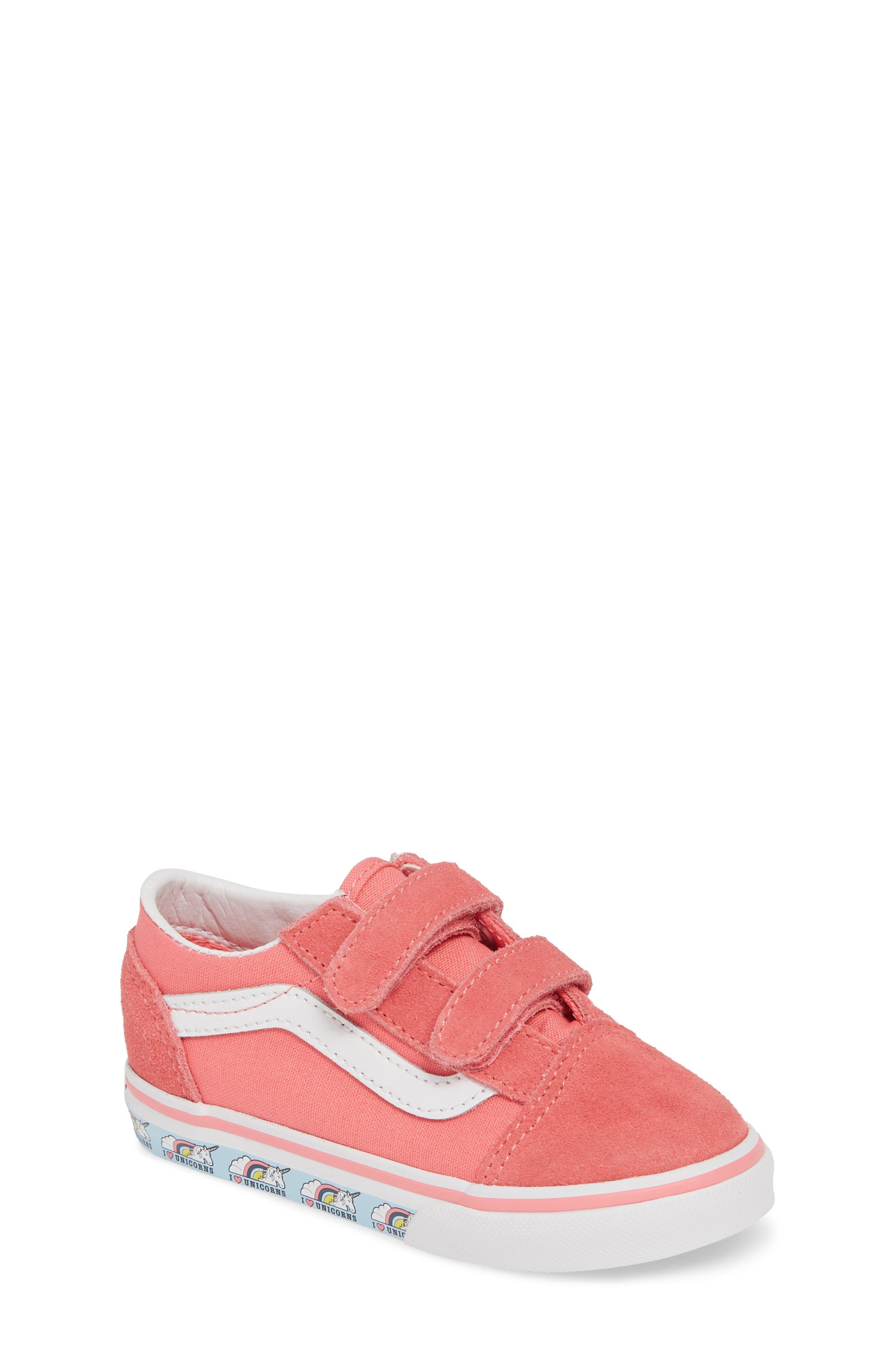 6648599777e Toddler Girl s Vans  Old Skool V  Sneaker