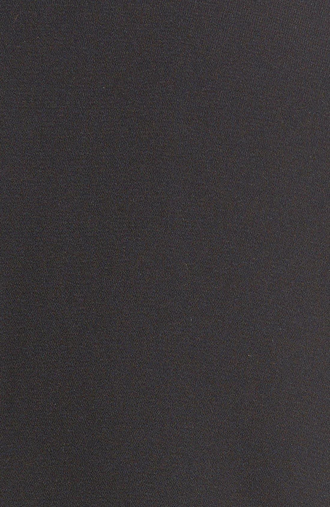FRENCHI,  Sleeveless Blazer, Alternate thumbnail 2, color, 001