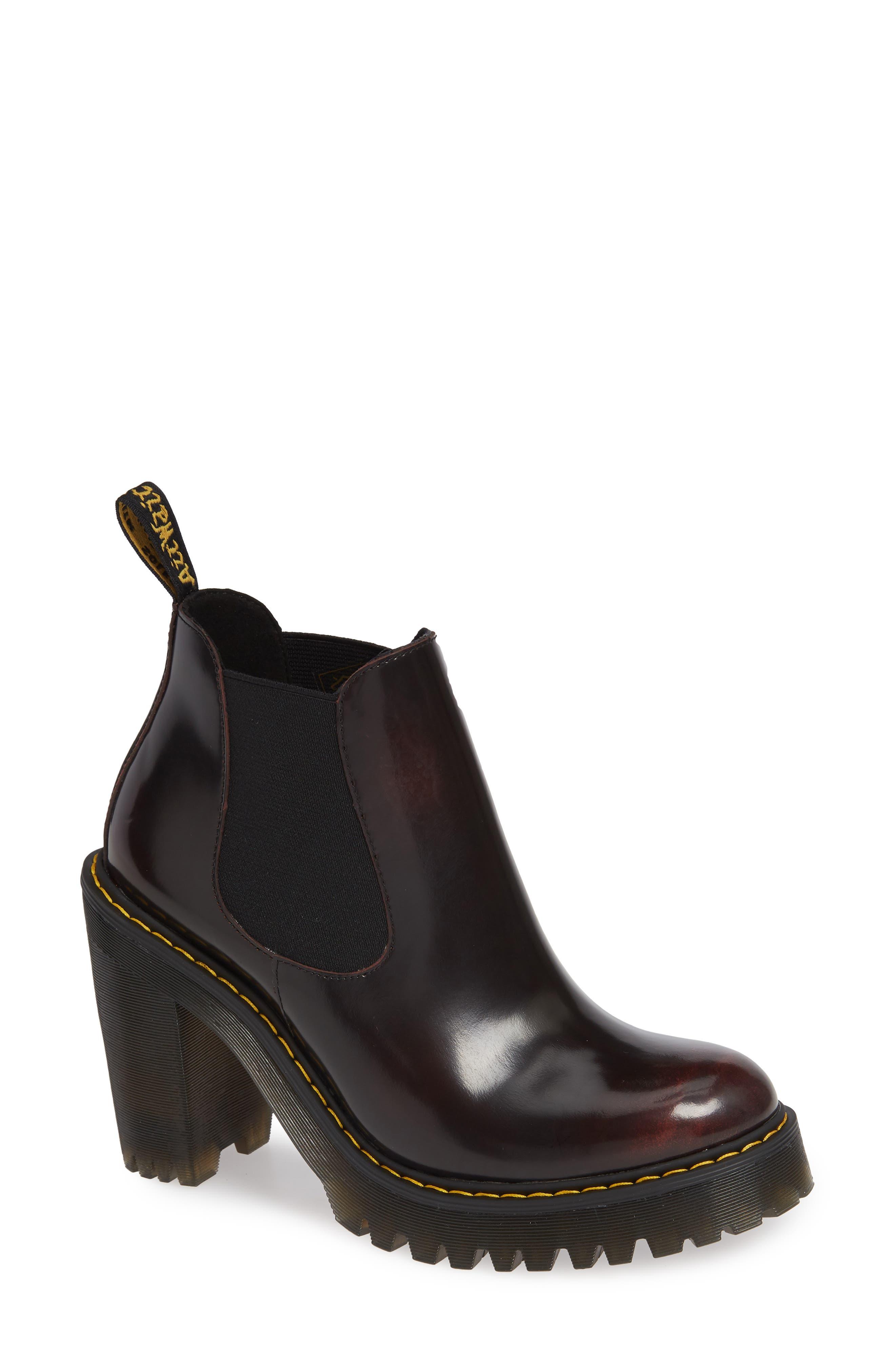 DR. MARTENS Hurston Chelsea Boot, Main, color, 930