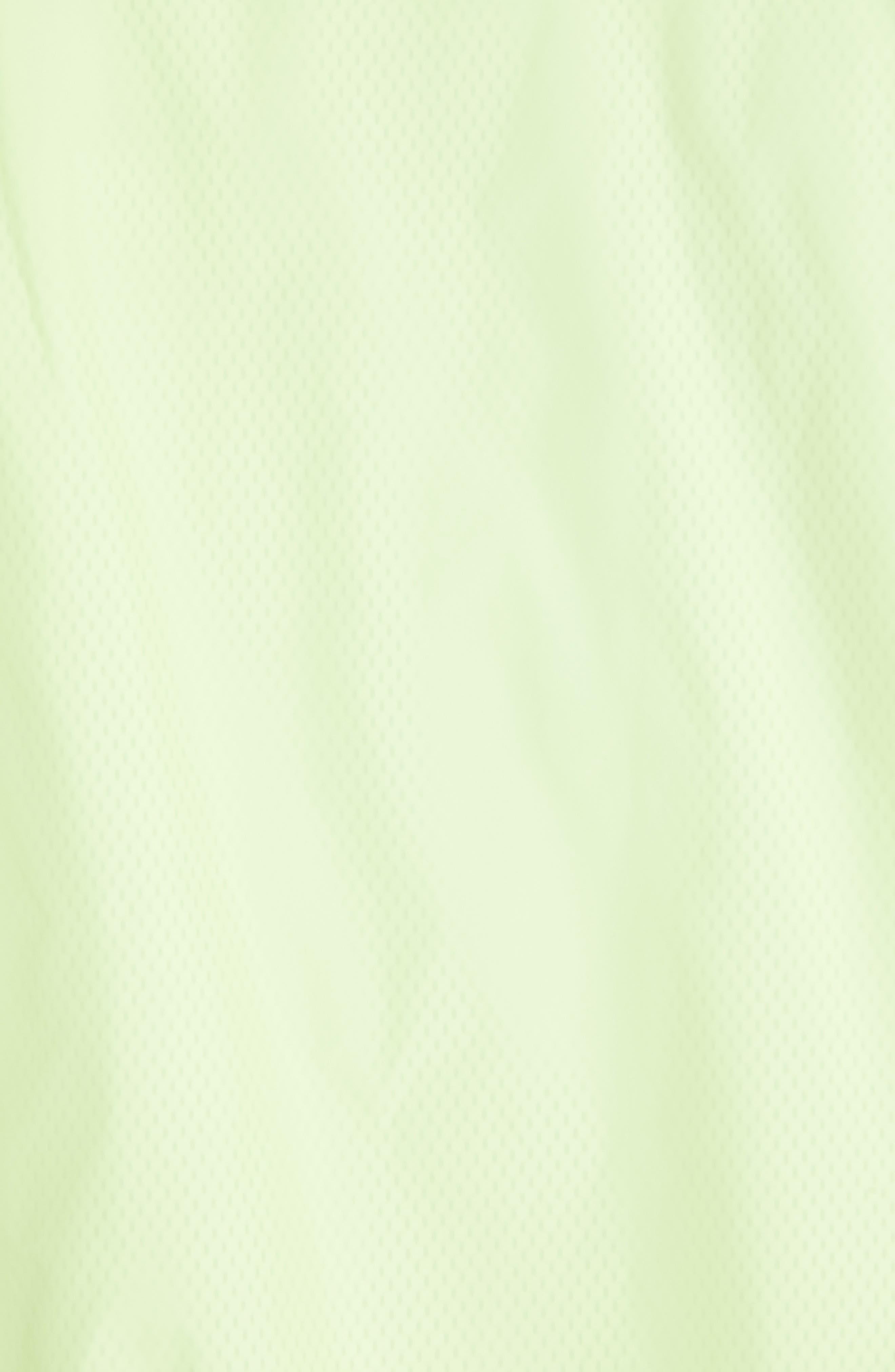 MAISON MARGIELA, Stereotype Coach's Jacket, Alternate thumbnail 6, color, NEON YELLOW