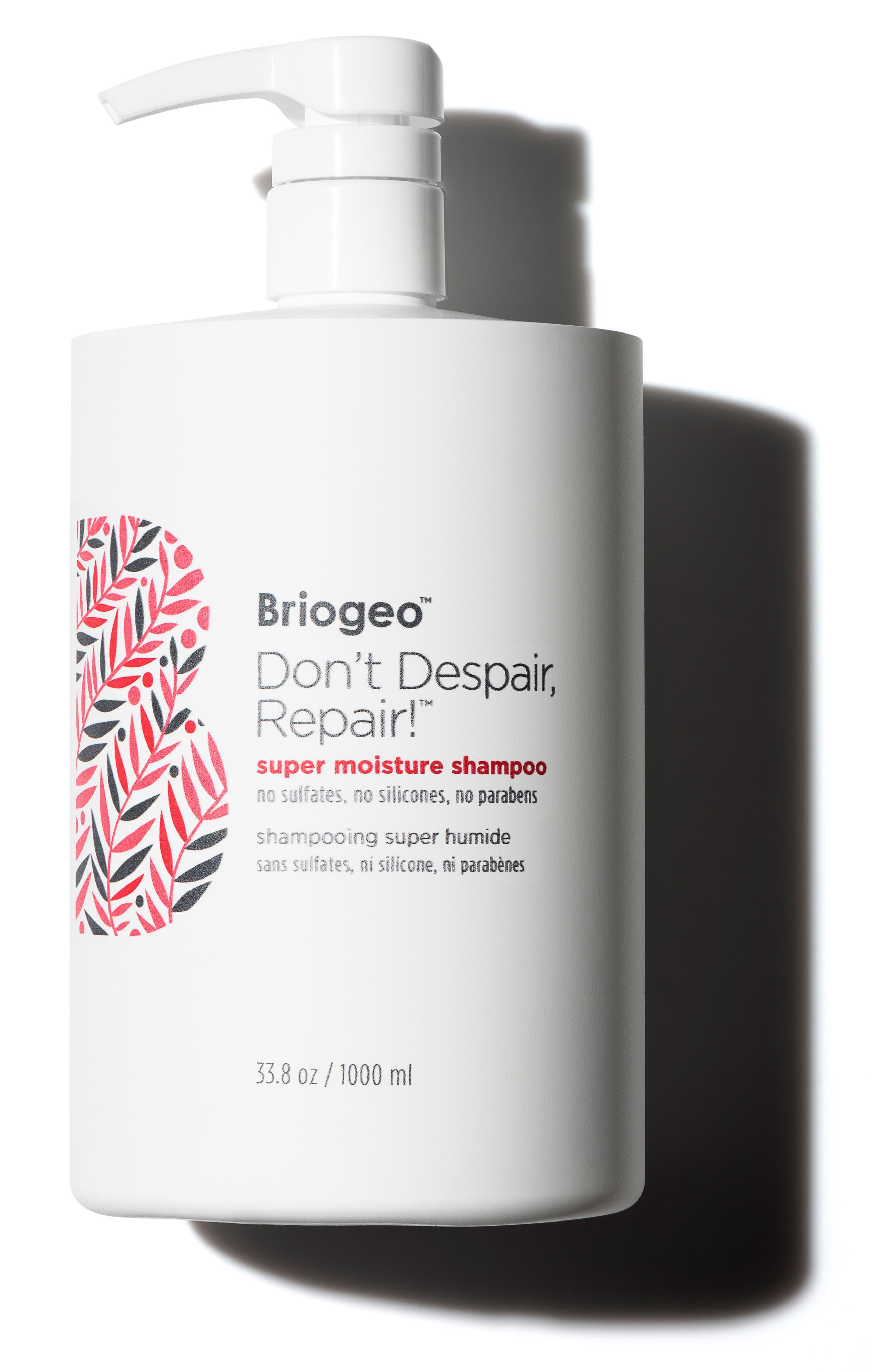 BRIOGEO, Don't Despair, Repair! Super Moisture Shampoo, Alternate thumbnail 3, color, NO COLOR
