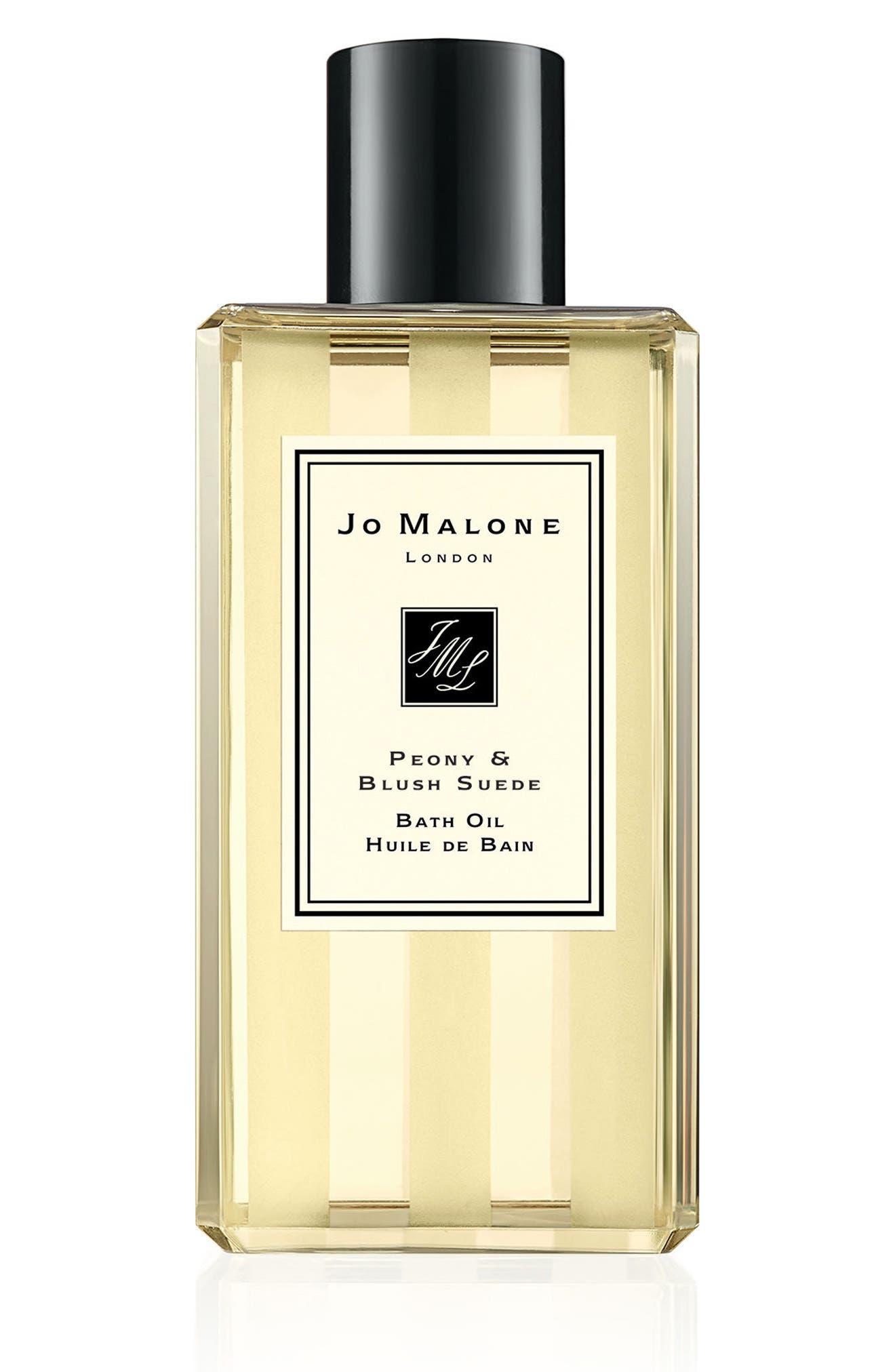 JO MALONE LONDON<SUP>™</SUP>, Peony & Blush Suede Bath Oil, Main thumbnail 1, color, NO COLOR