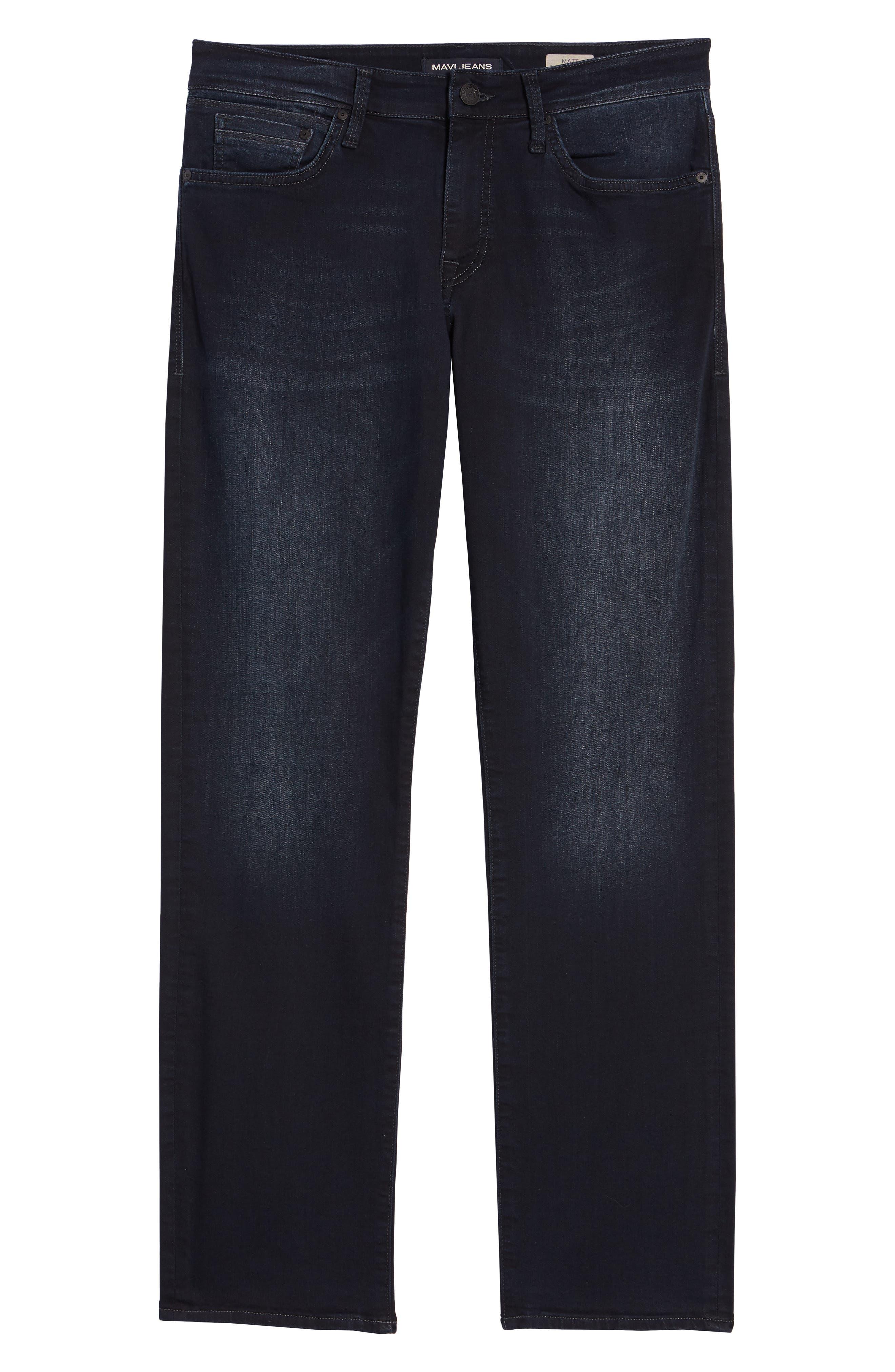 MAVI JEANS, Matt Relaxed Fit Jeans, Alternate thumbnail 2, color, INK WILLIAMSBURG