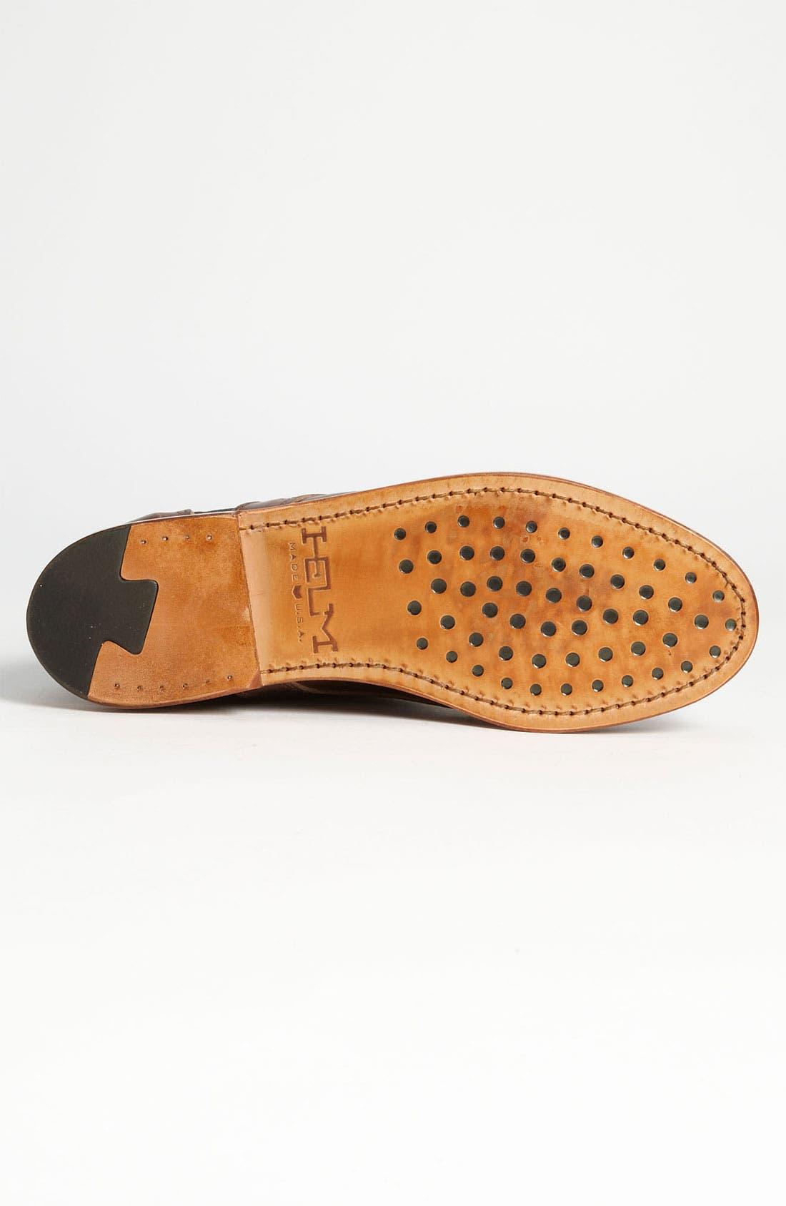 HELM, 'Reid' Cap Toe Boot, Alternate thumbnail 3, color, 200