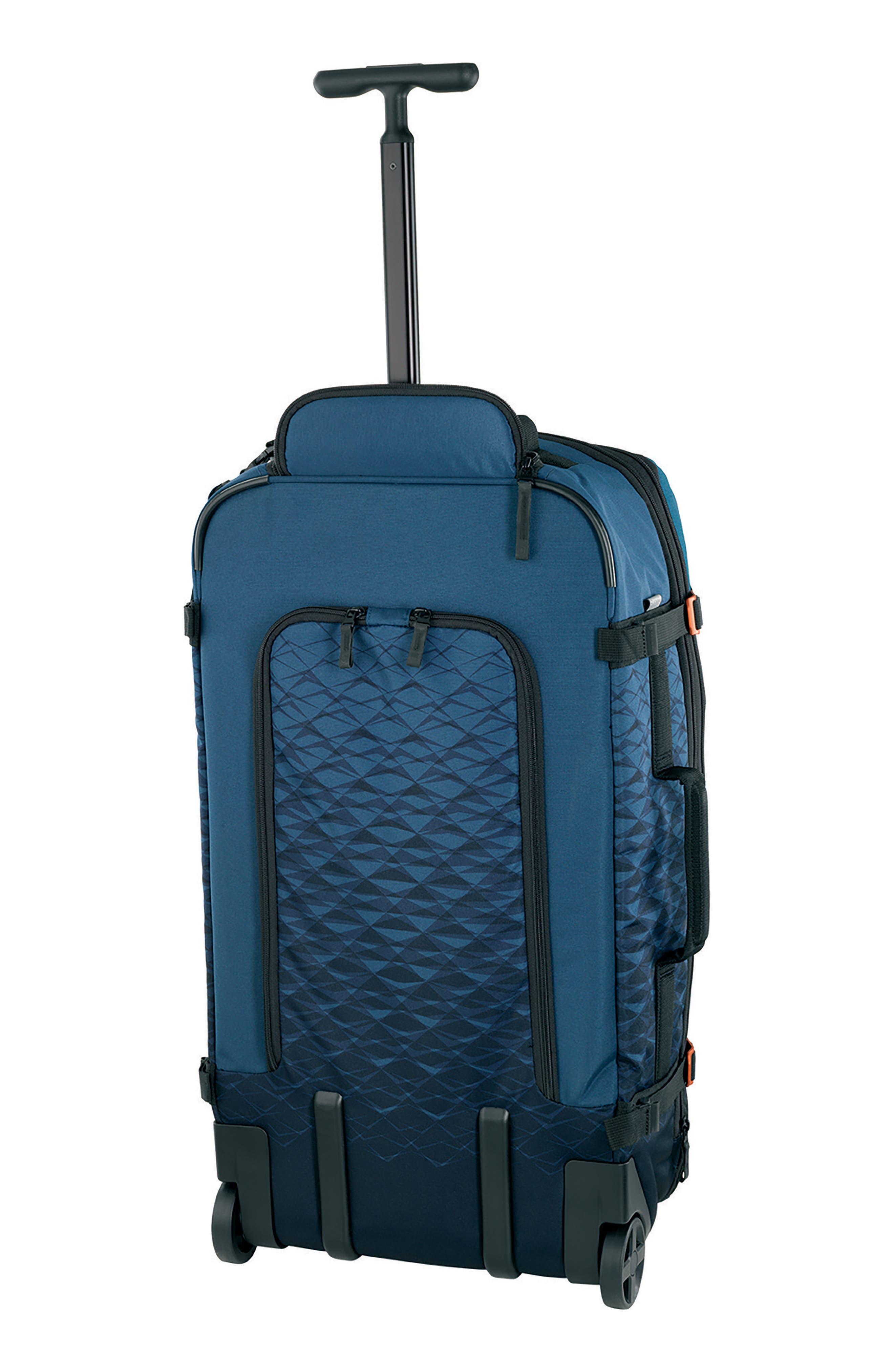 VICTORINOX SWISS ARMY<SUP>®</SUP>, VX Touring Medium 26-Inch Wheeled Duffle Bag, Alternate thumbnail 3, color, DARK TEAL