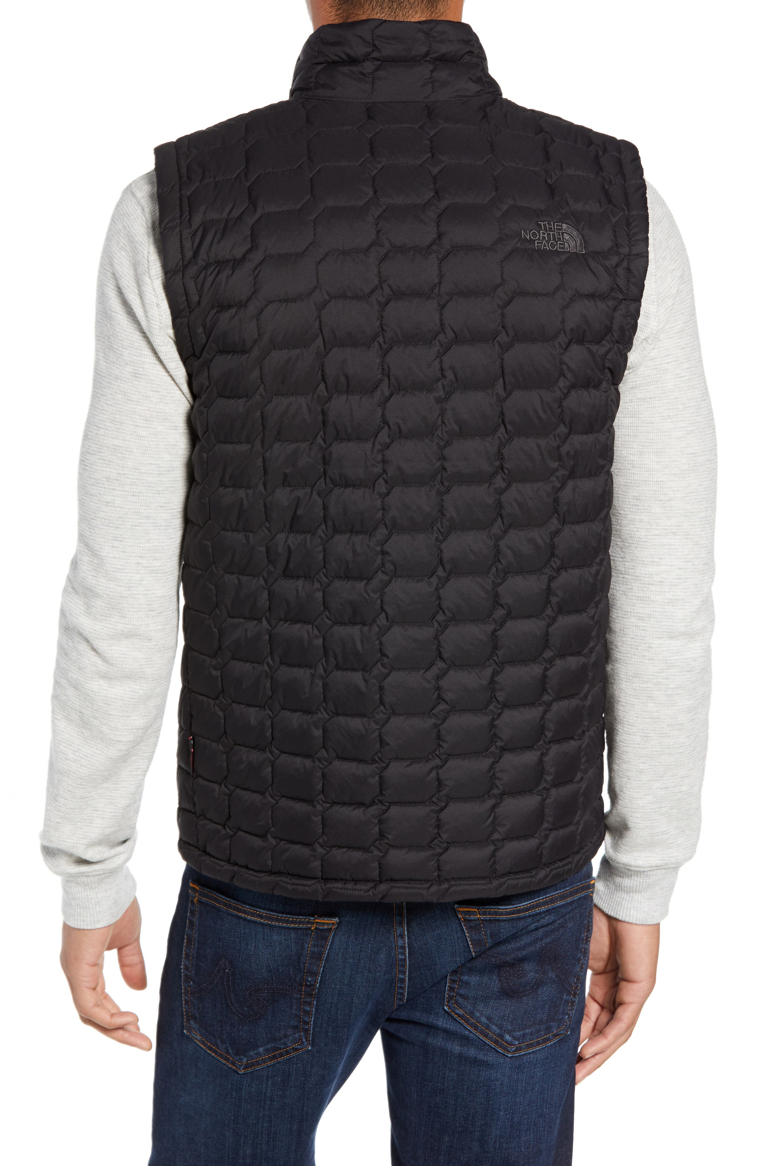 THE NORTH FACE, Thermoball<sup>®</sup> PrimaLoft<sup>®</sup> Vest, Alternate thumbnail 2, color, TNF BLACK MATTE