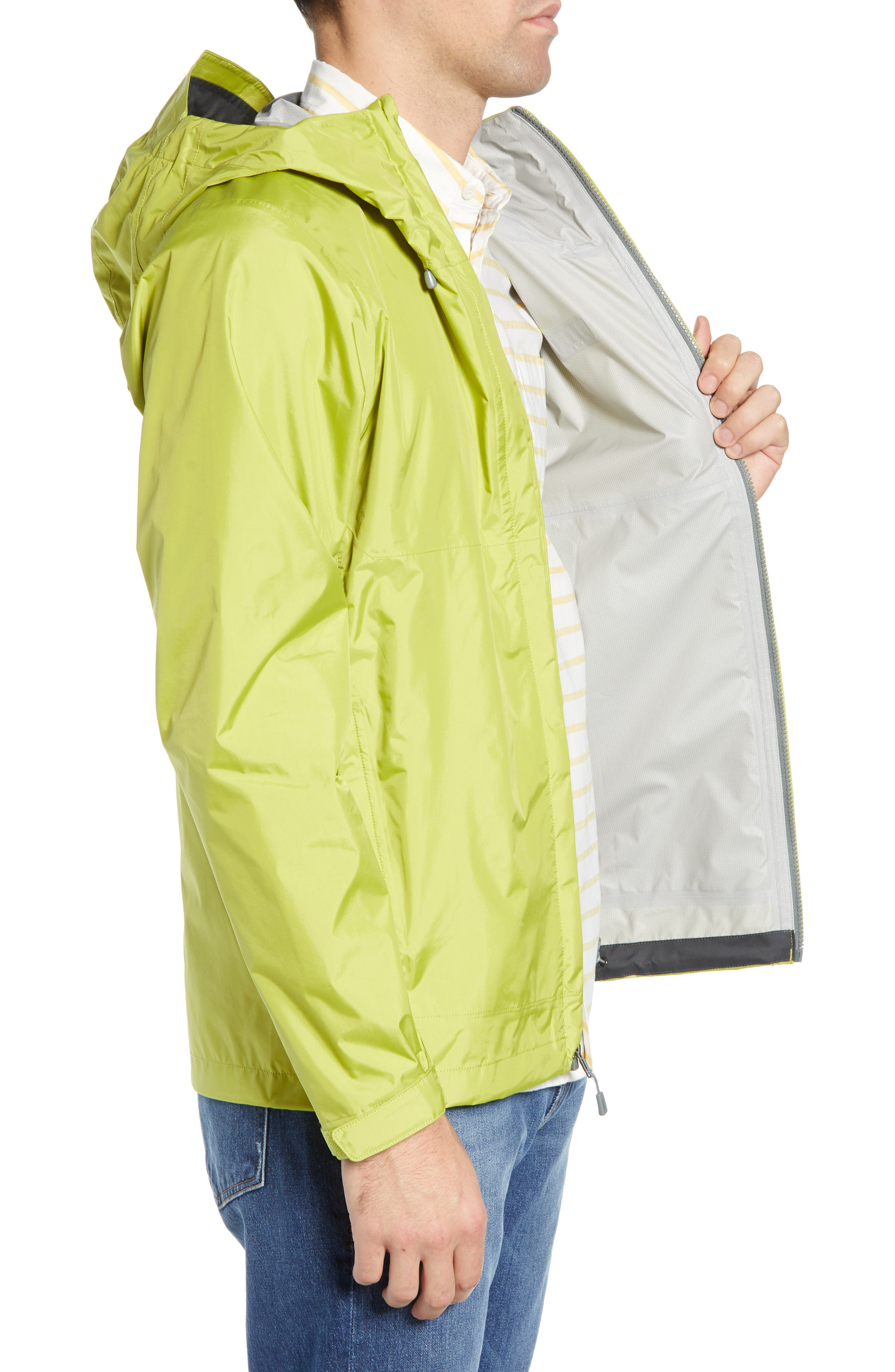 PATAGONIA, Torrentshell Packable Rain Jacket, Alternate thumbnail 4, color, FOLIOS GREEN