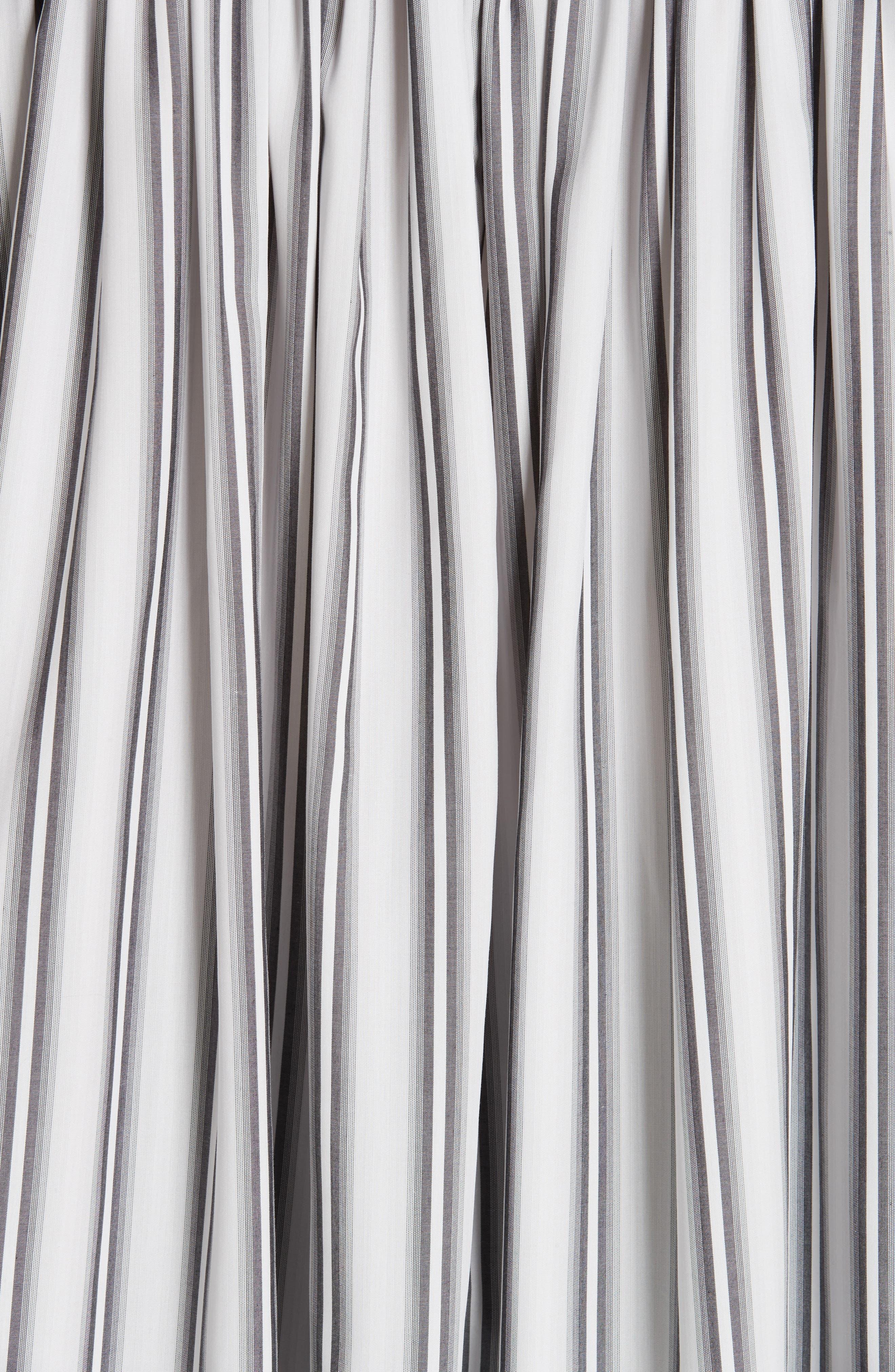 PALMER/HARDING, Streep Stripe Shirt, Alternate thumbnail 5, color, GRADIENT STRIPE WITH BLACK