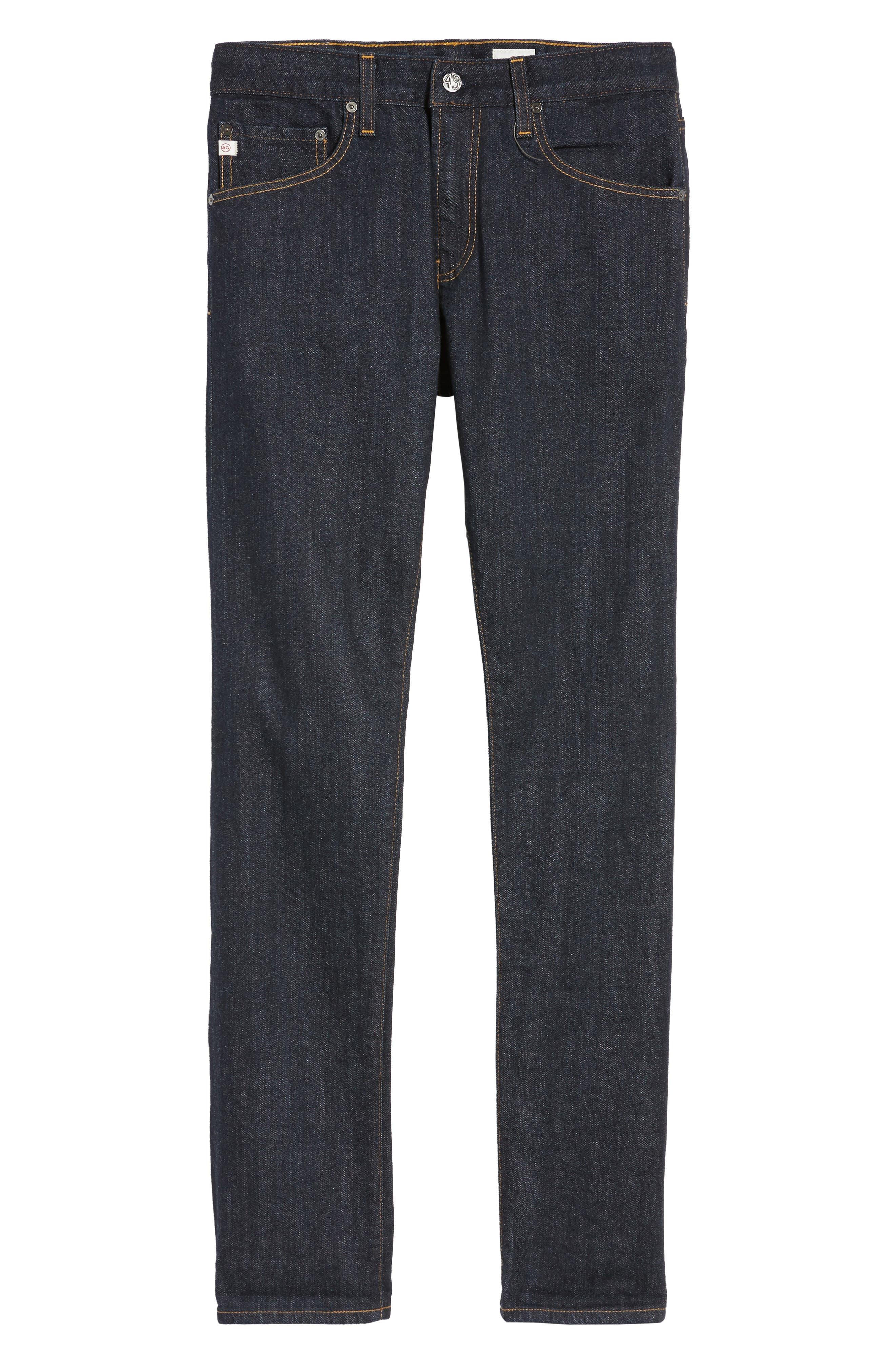 AG, Tellis Slim Fit Jeans, Alternate thumbnail 7, color, ALPHA