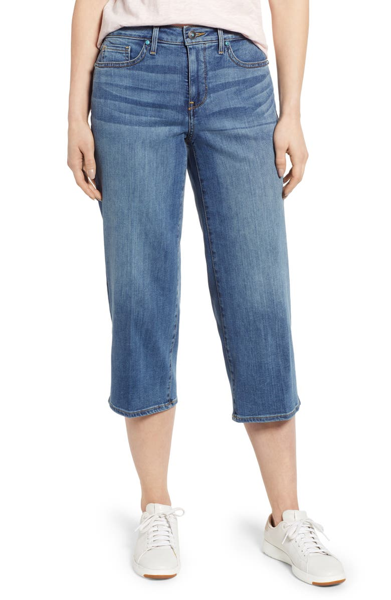 Nydj Jeans WIDE LEG CAPRI JEANS