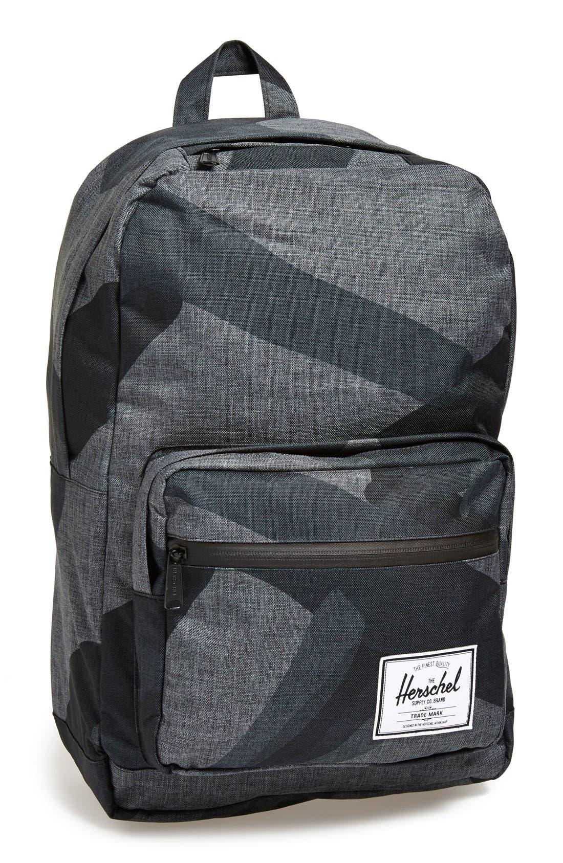 HERSCHEL SUPPLY CO., 'Pop Quiz - Black Portal' Backpack, Main thumbnail 1, color, 002