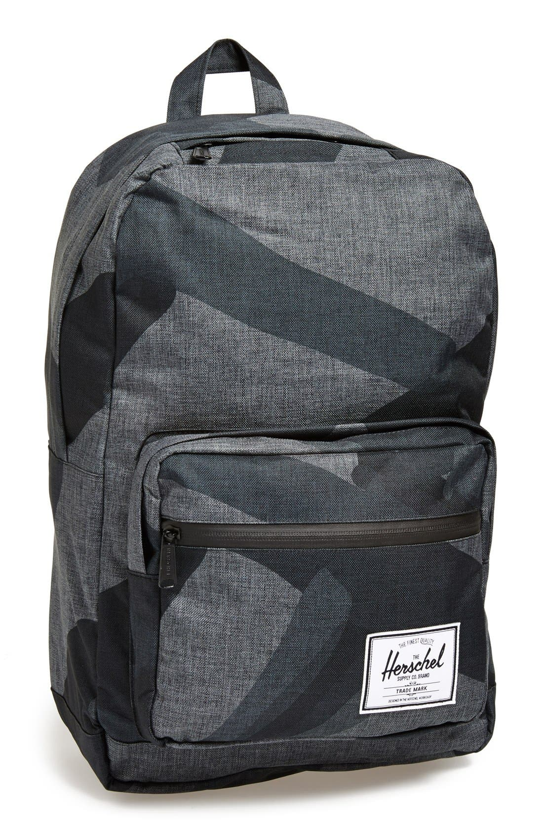 HERSCHEL SUPPLY CO. 'Pop Quiz - Black Portal' Backpack, Main, color, 002