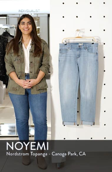 Organic Cotton Boyfriend Jeans, sales video thumbnail