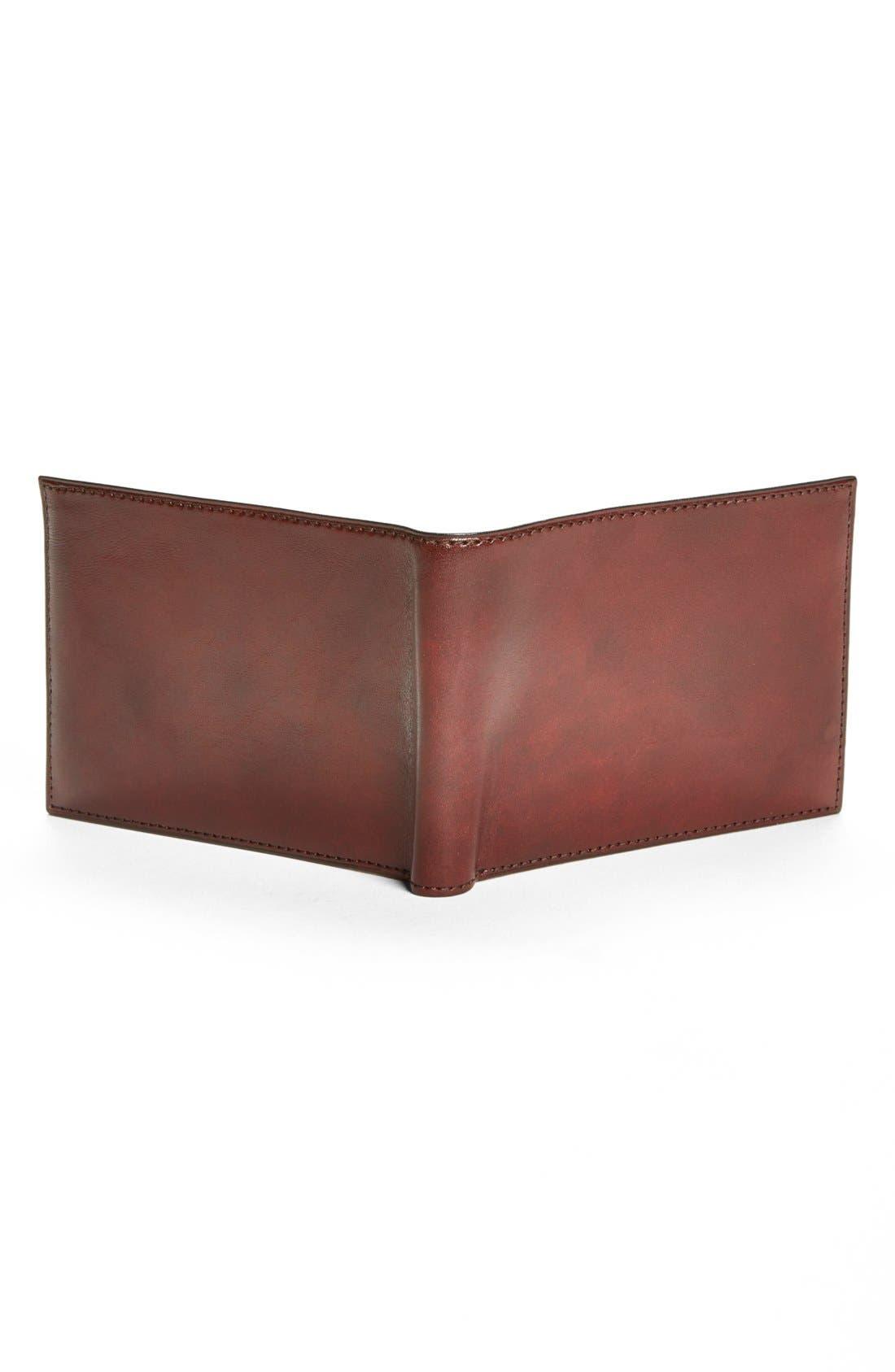 BOSCA, ID Passcase Wallet, Alternate thumbnail 3, color, BROWN