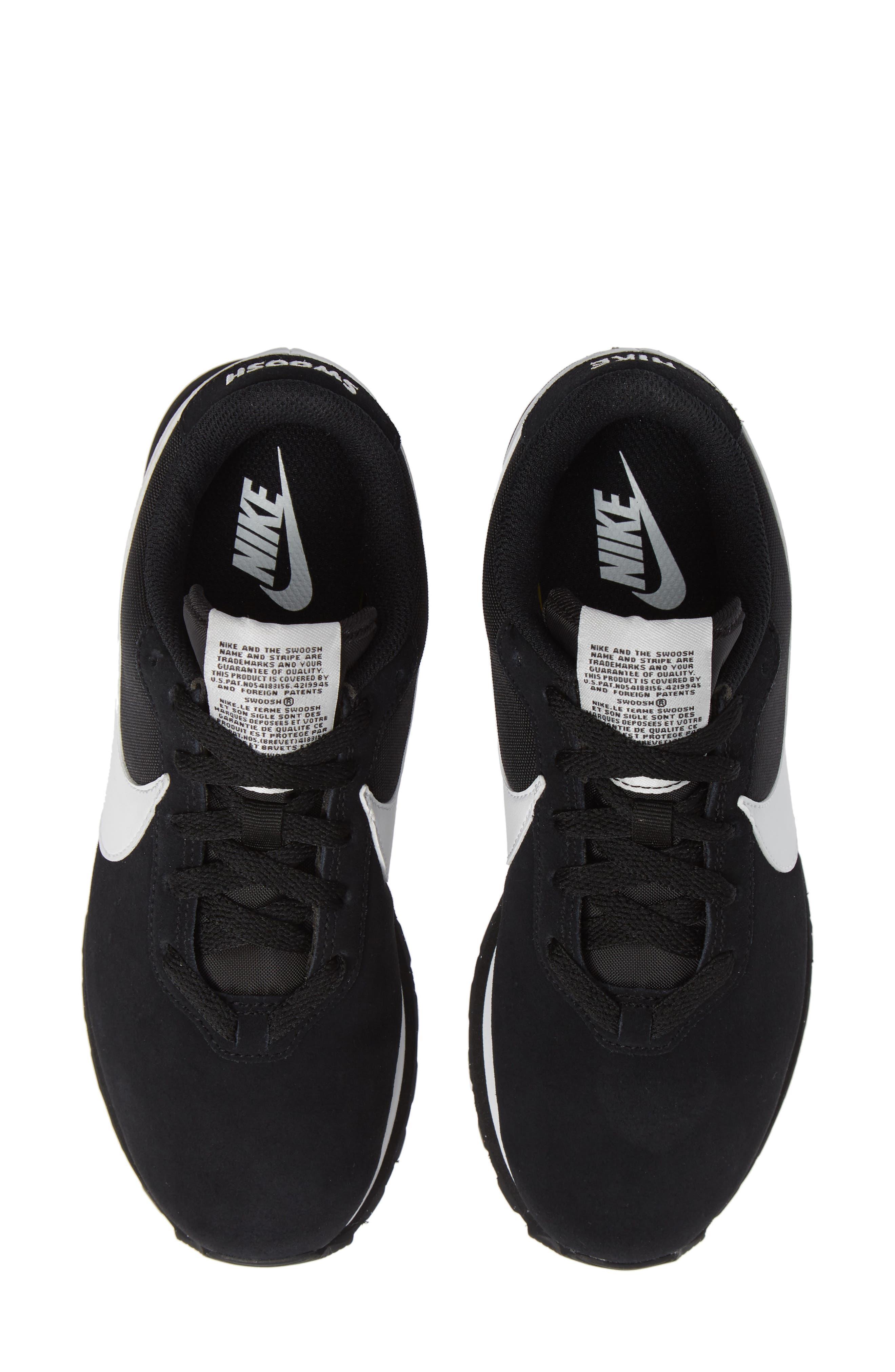 NIKE, Pre Love O.X. Sneaker, Main thumbnail 1, color, BLACK/ SUMMIT WHITE