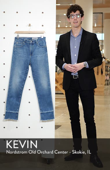 The Isabelle High Waist Straight Leg Jeans, sales video thumbnail