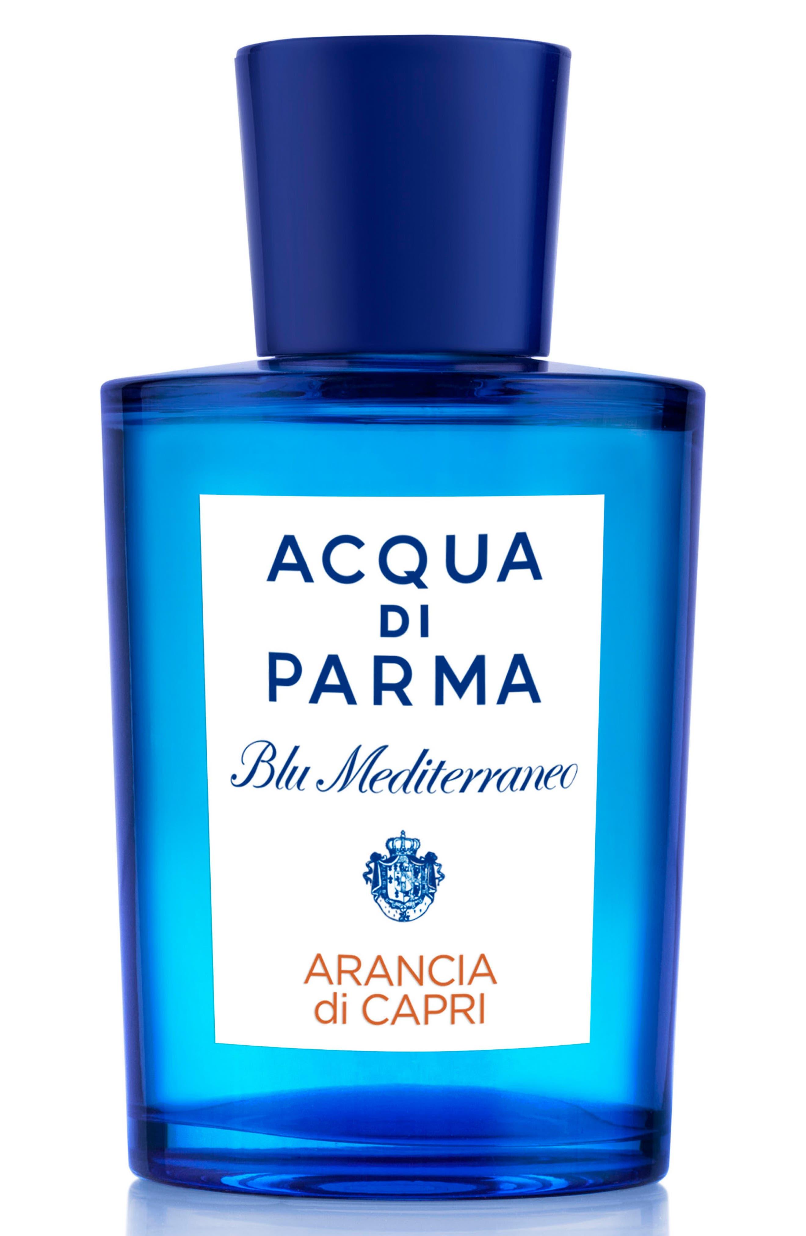 ACQUA DI PARMA, Blu Mediterraneo Arancia di Capri Eau de Toilette, Main thumbnail 1, color, NO COLOR