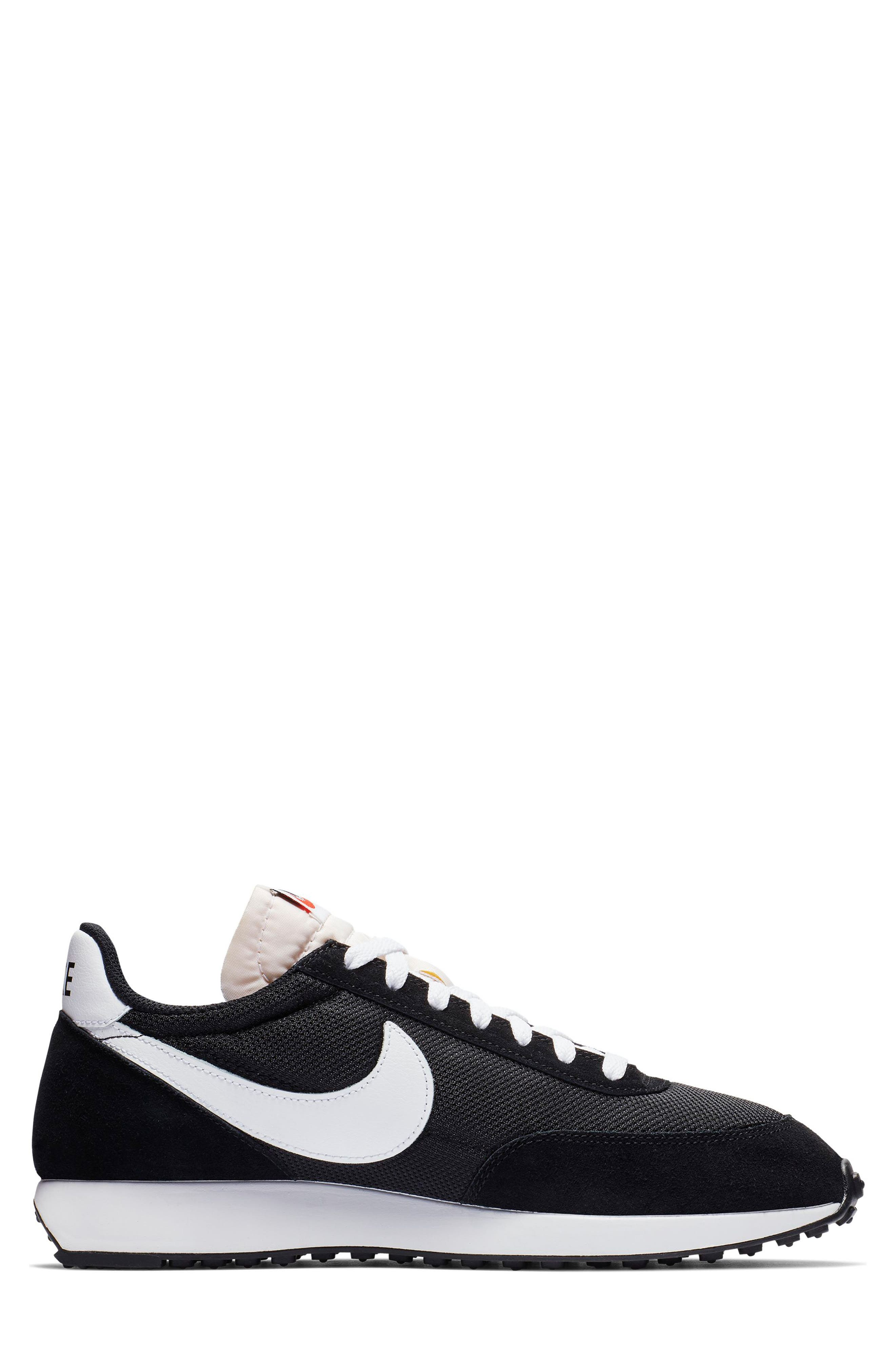NIKE, 'Air Tailwind' Running Shoe, Alternate thumbnail 2, color, BLACK/ WHITE/ TEAM ORANGE