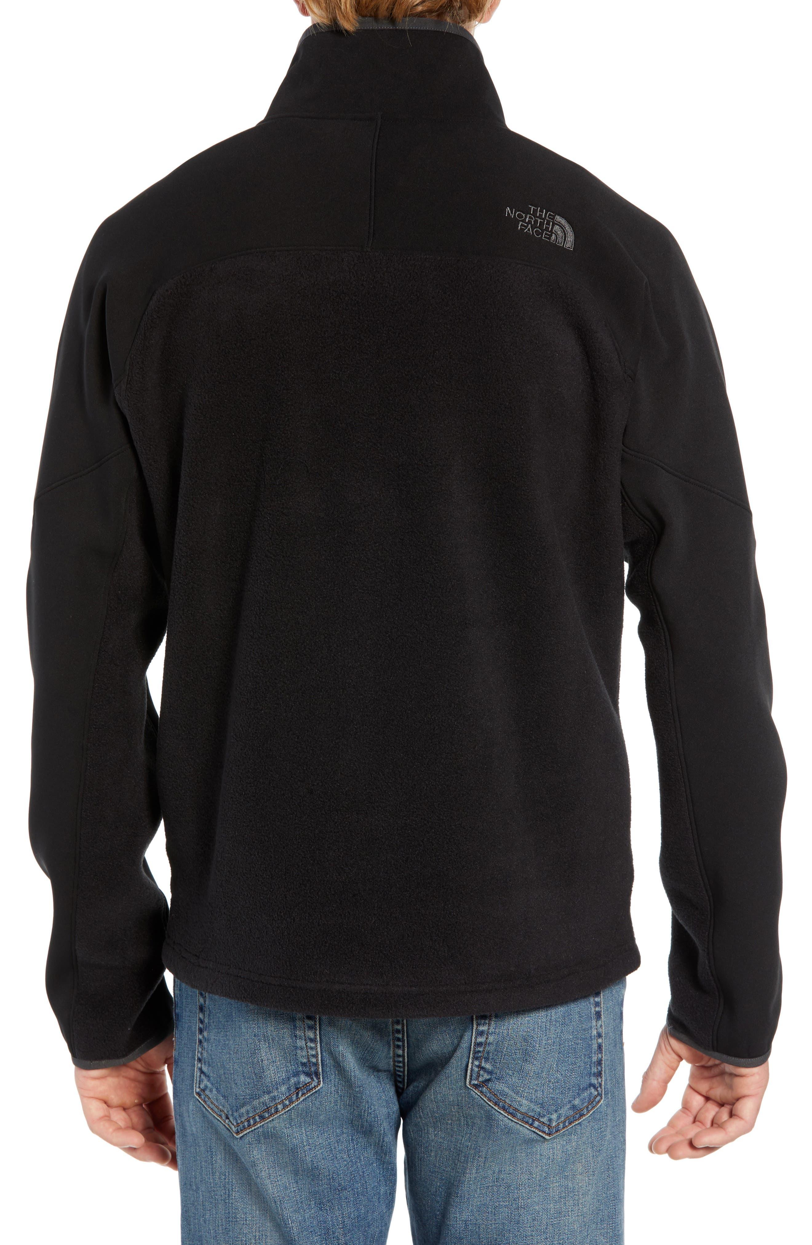 THE NORTH FACE, Tolmiepeak Hybrid Half-Zip Pullover, Alternate thumbnail 2, color, 001