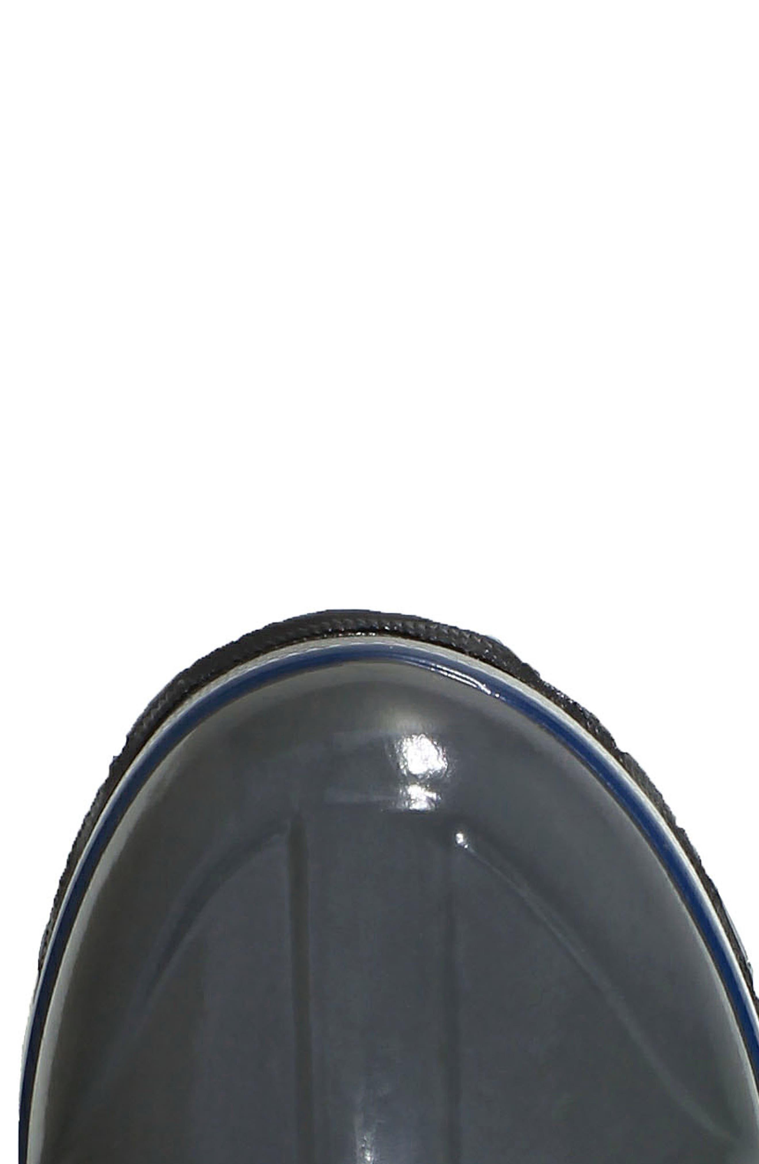 BOGS, Classic Tall Badge Waterproof Snow Boot, Alternate thumbnail 5, color, DARK GREY MULTI