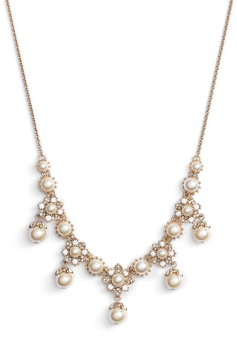 Marchesa SHAKY FRONTAL NECKLACE