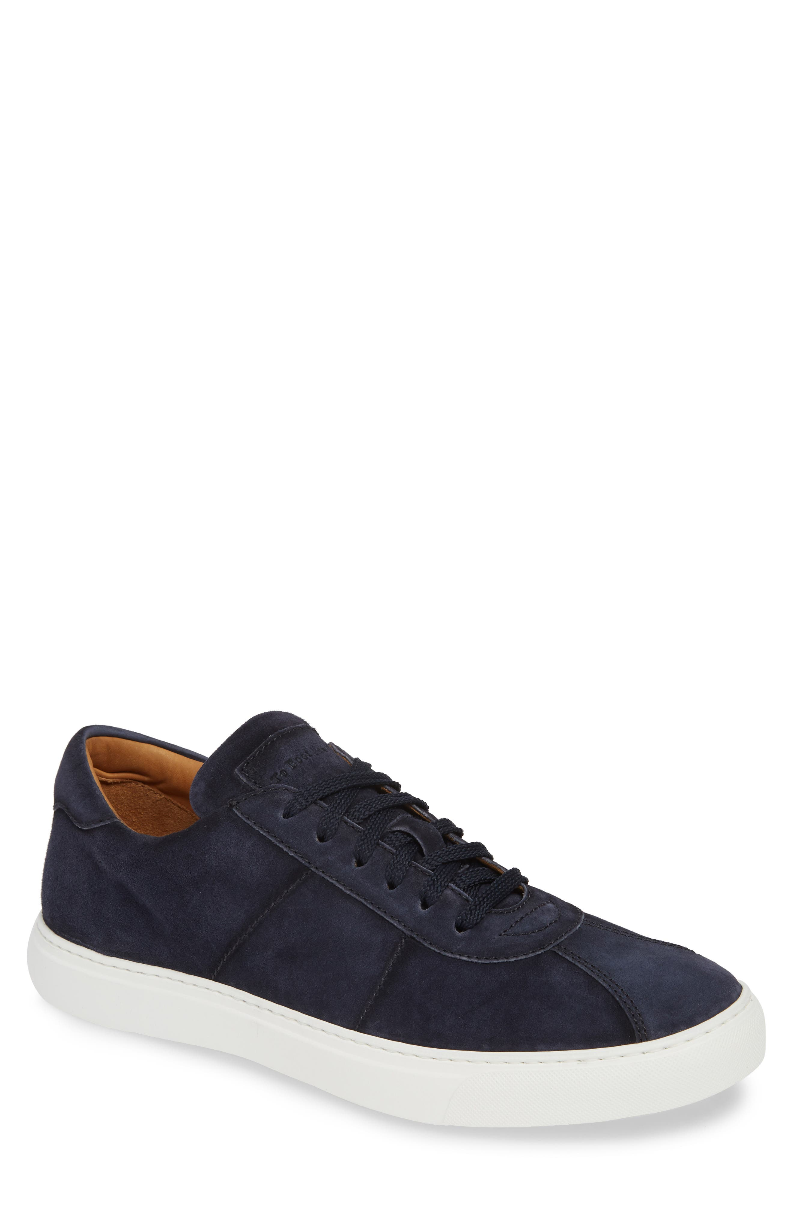 To Boot New York Charger Low Top Sneaker, Blue
