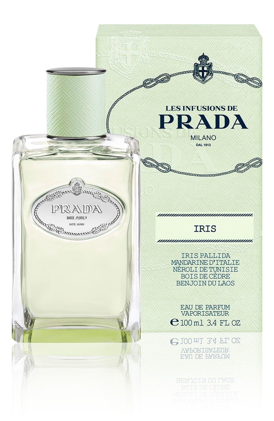 PRADA, Les Infusions Iris Eau de Parfum, Alternate thumbnail 2, color, NO COLOR