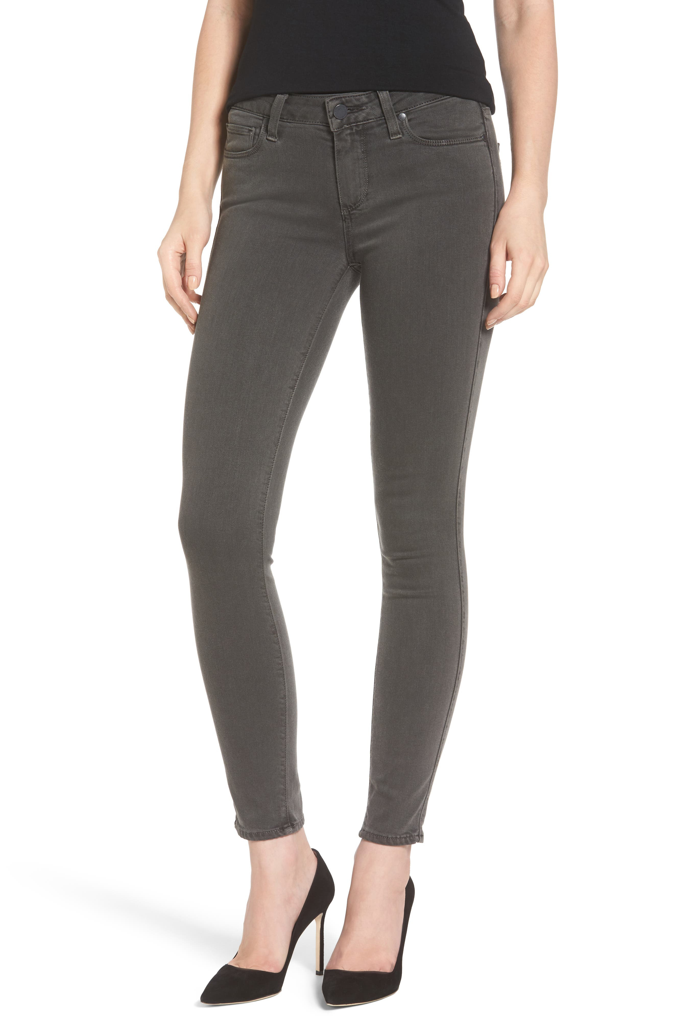 PAIGE Transcend - Verdugo Ankle Skinny Jeans, Main, color, 021