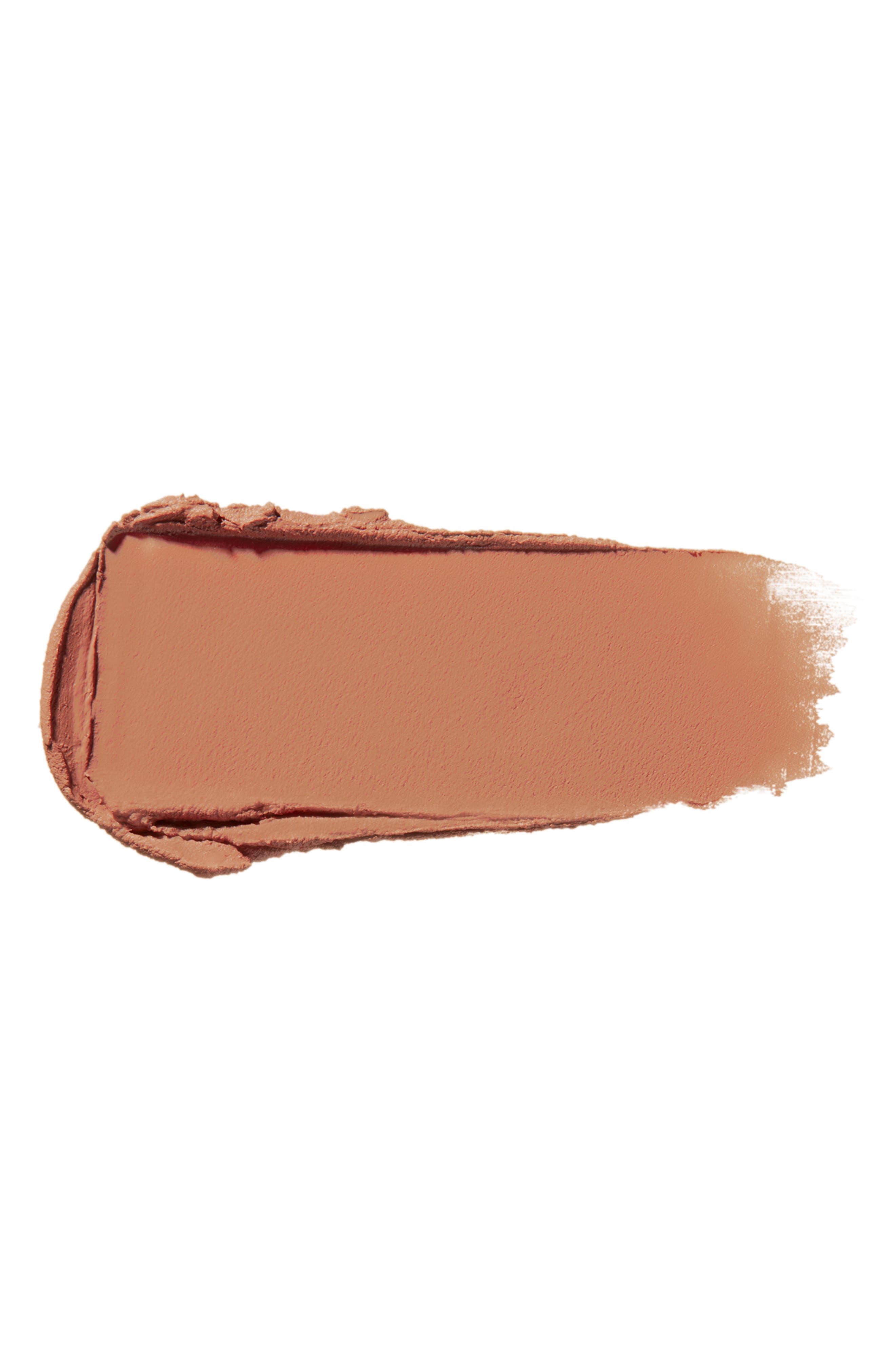 SHISEIDO, Modern Matte Powder Lipstick, Alternate thumbnail 3, color, NUDE STREAK