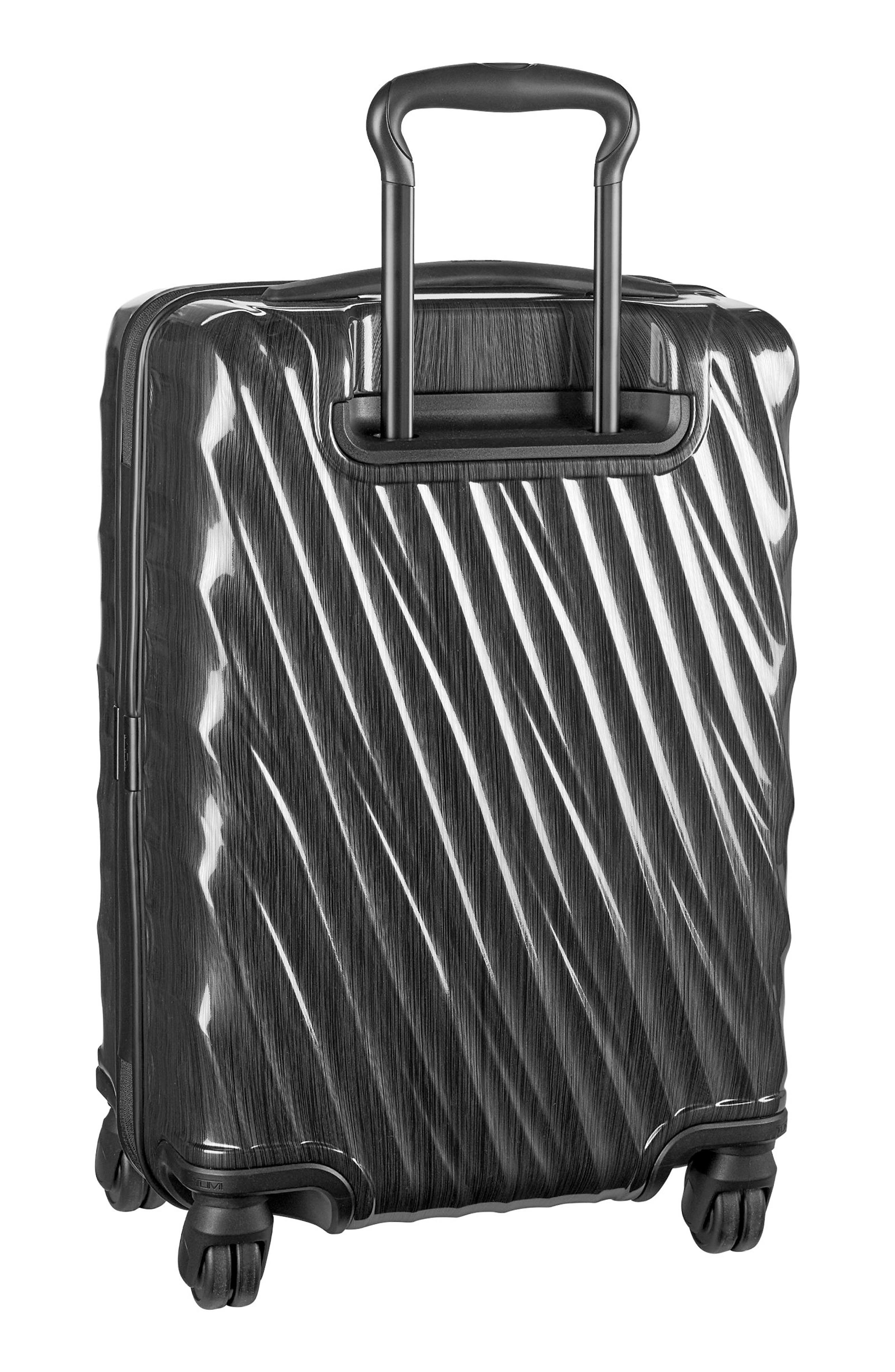 TUMI, 19 Degree 21-Inch International Wheeled Carry-On, Alternate thumbnail 4, color, 001