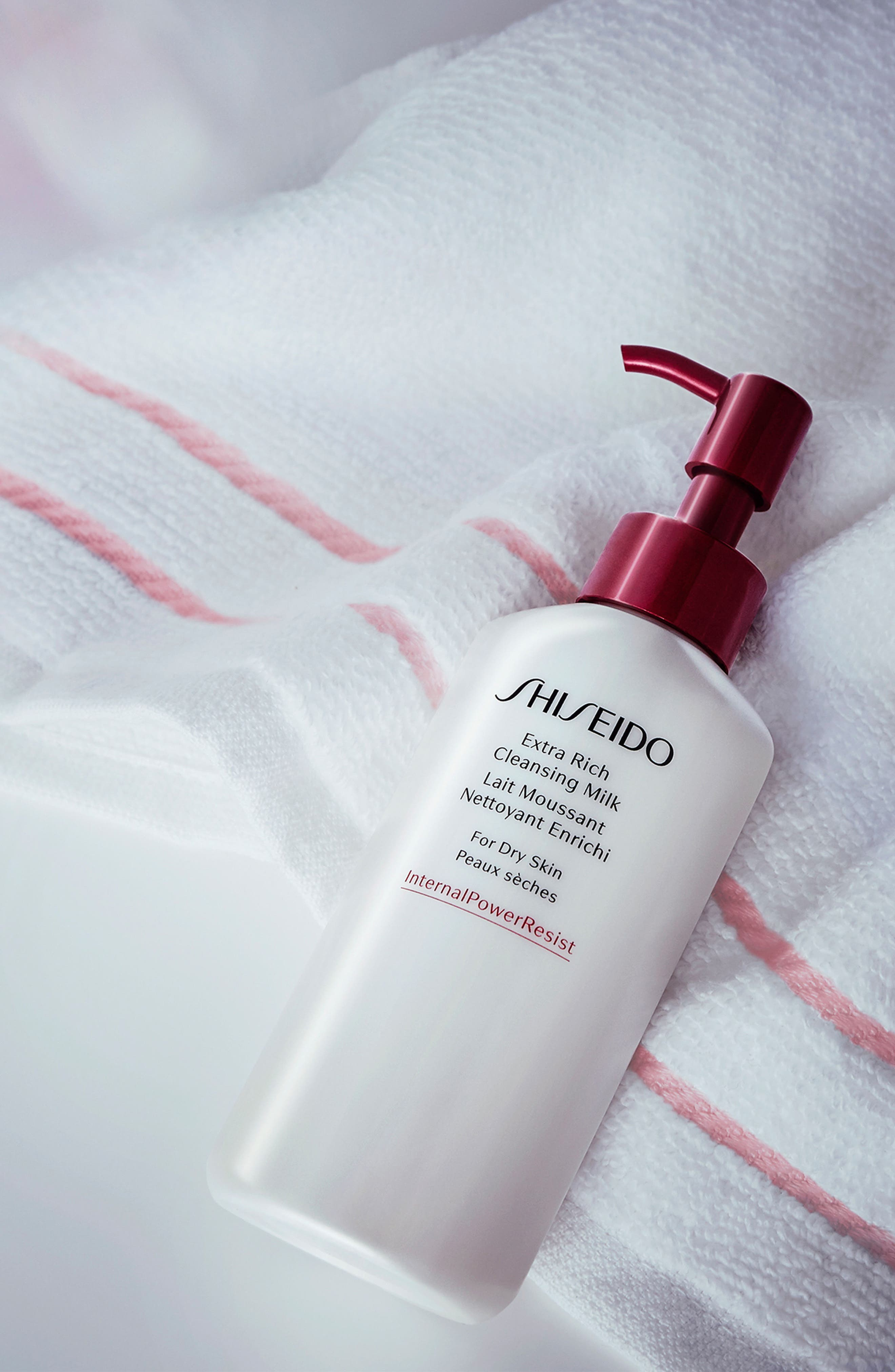 SHISEIDO, Extra Rich Cleansing Milk, Alternate thumbnail 6, color, NO COLOR