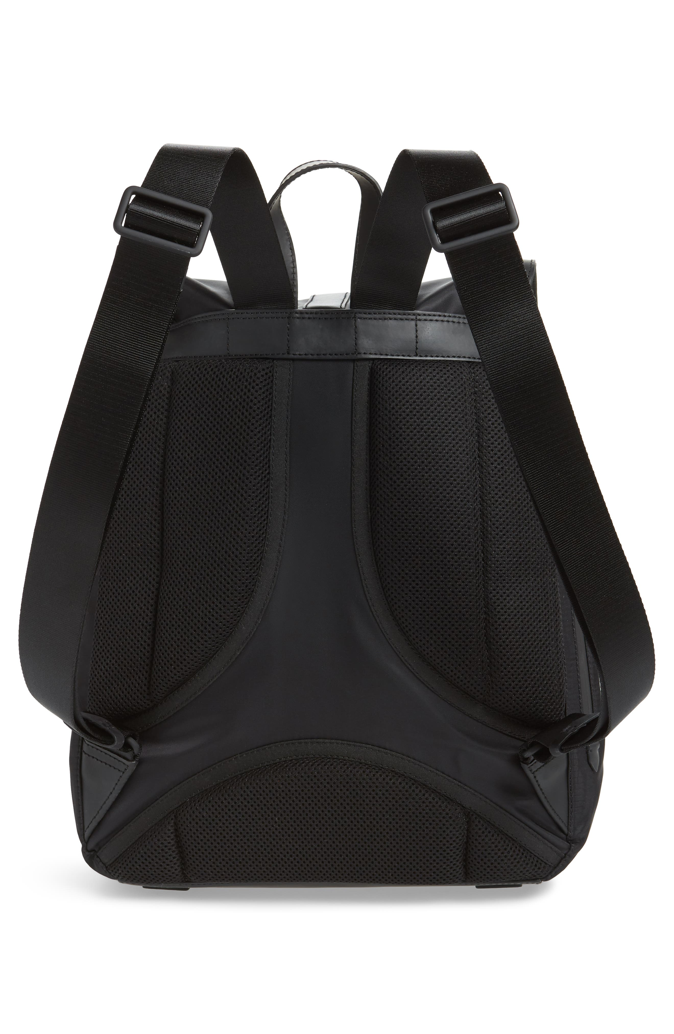 COLE HAAN, ZeroGrand Backpack, Alternate thumbnail 3, color, BLACK
