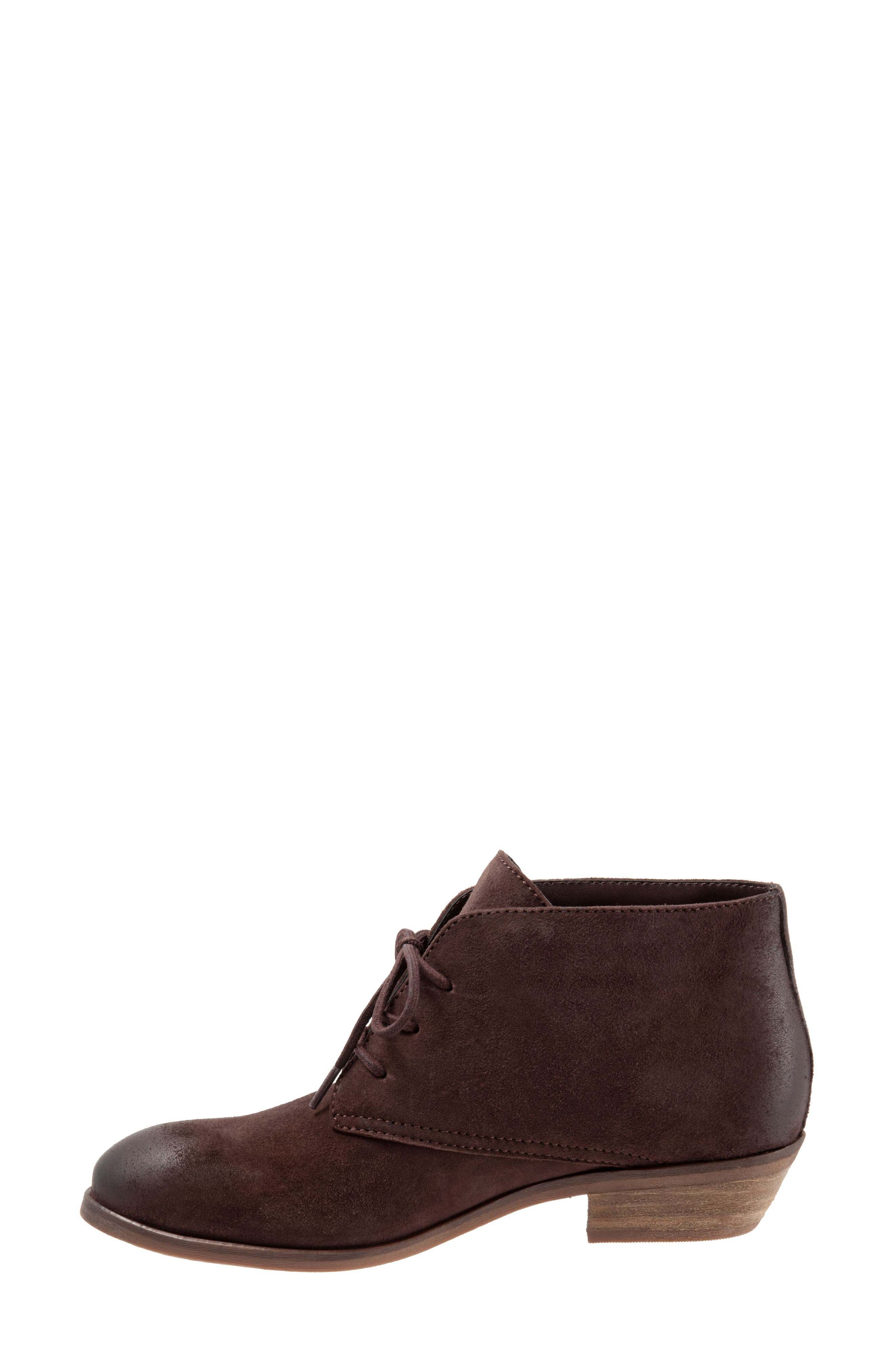 SOFTWALK<SUP>®</SUP>, Ramsey Chukka Boot, Alternate thumbnail 8, color, DARK BROWN LEATHER