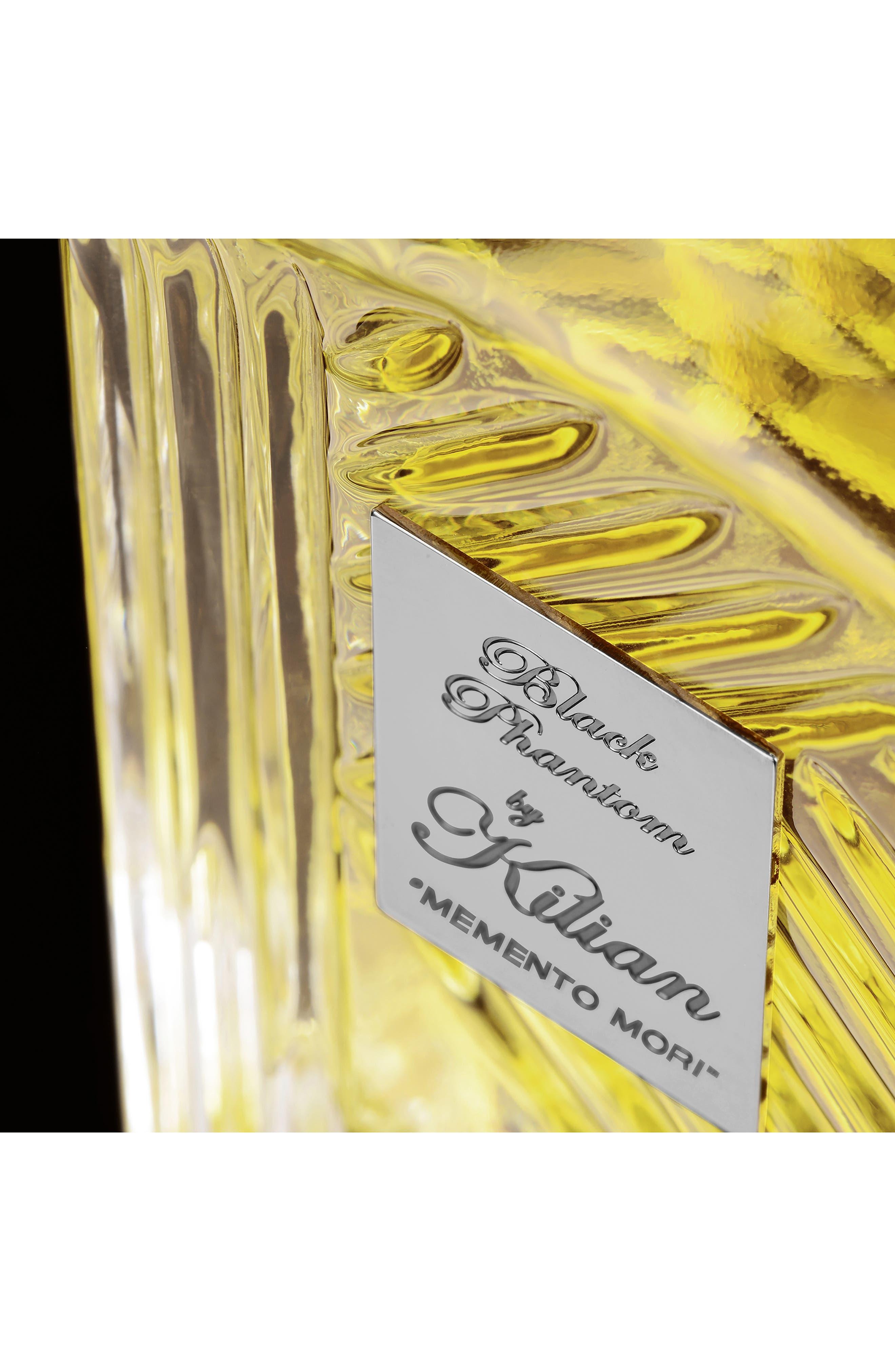 KILIAN, Black Phantom Memento Mori Eau de Parfum Mini Carafe, Alternate thumbnail 4, color, NO COLOR